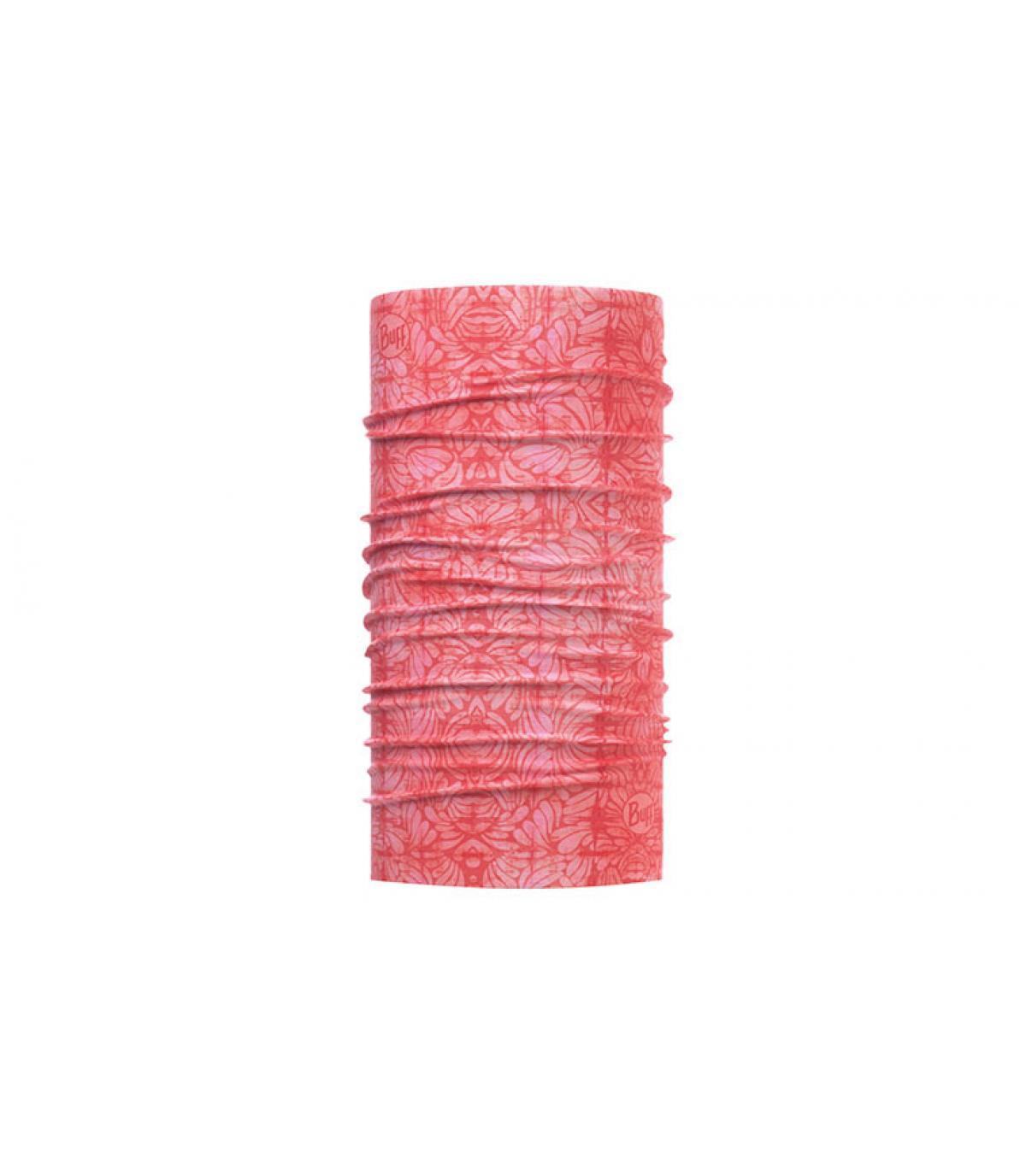 Buff stampato in rosa