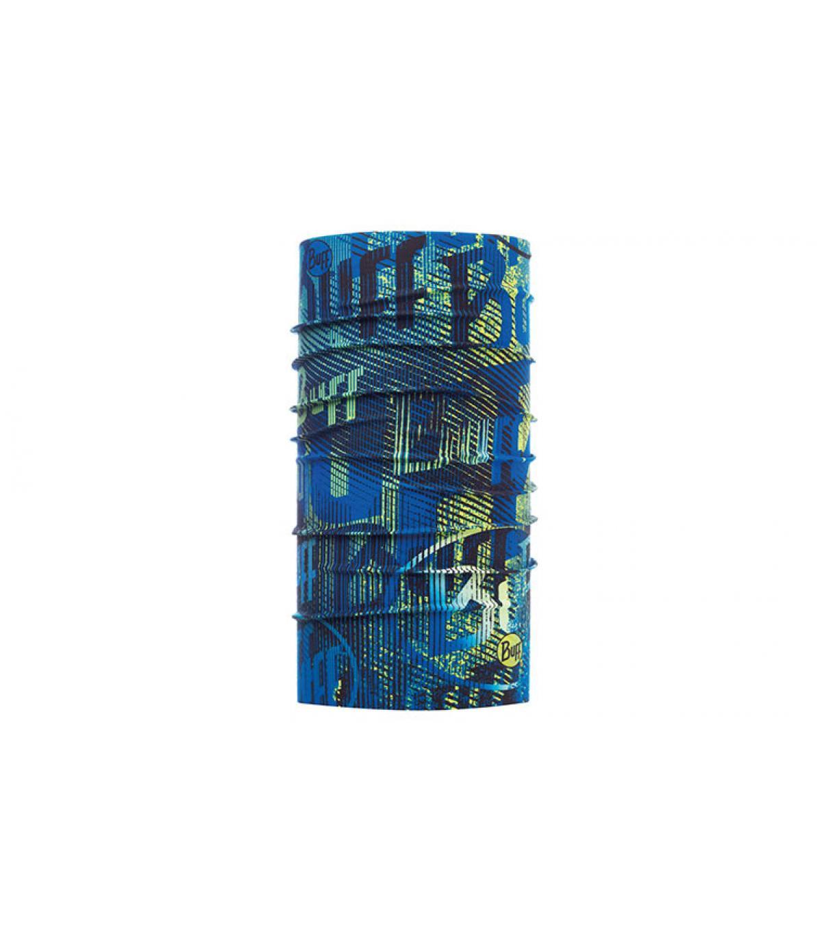 Logo stampato blu opaco