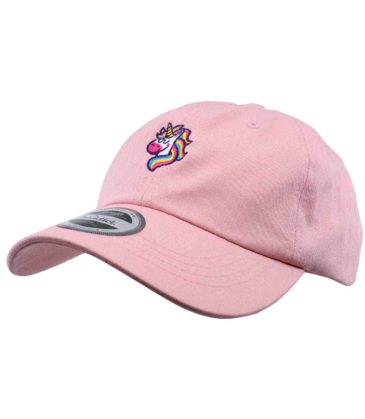 berretto di unicorno rosa