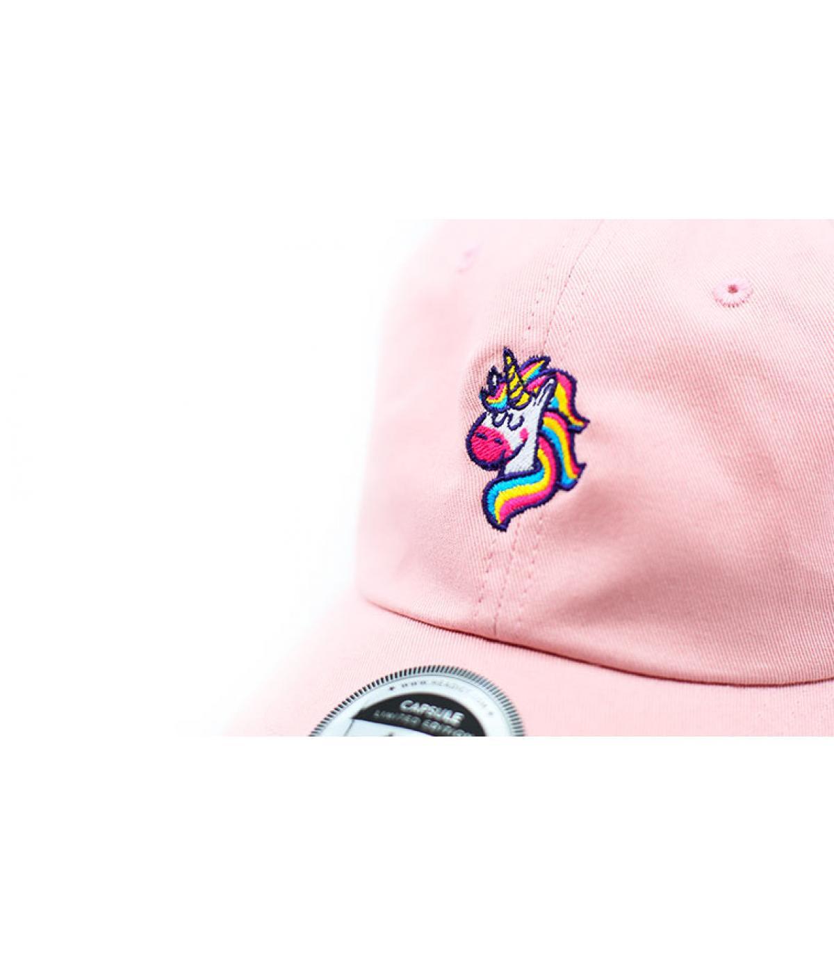 Dettagli Casquette Unicorns Are Real pink - image 3