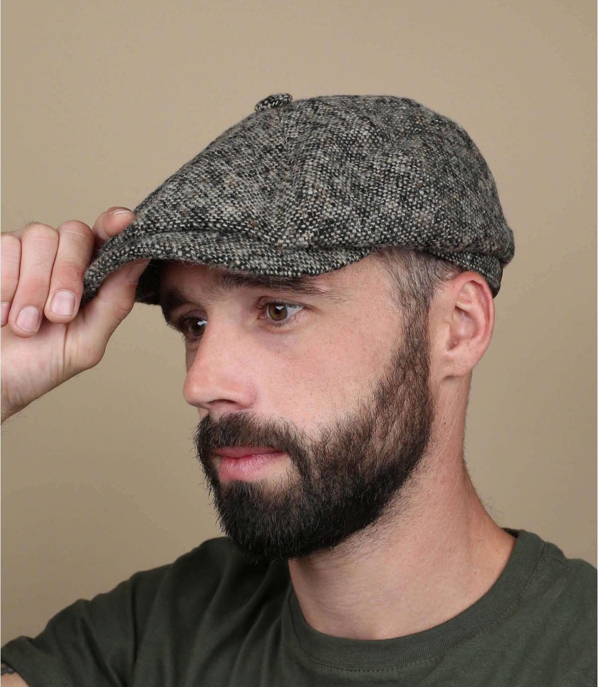 Cappellino lana grezza