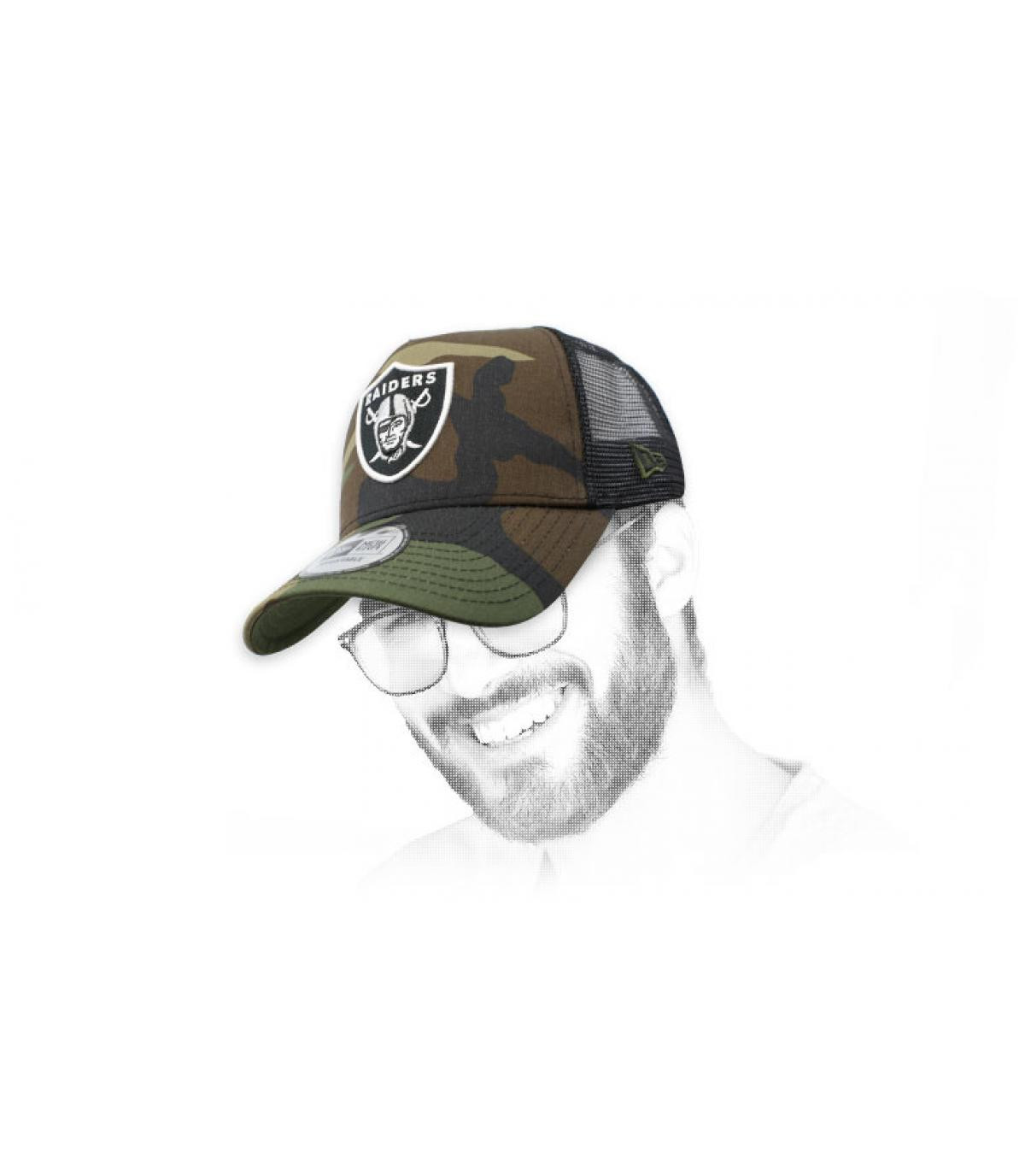 trucker Raiders camo