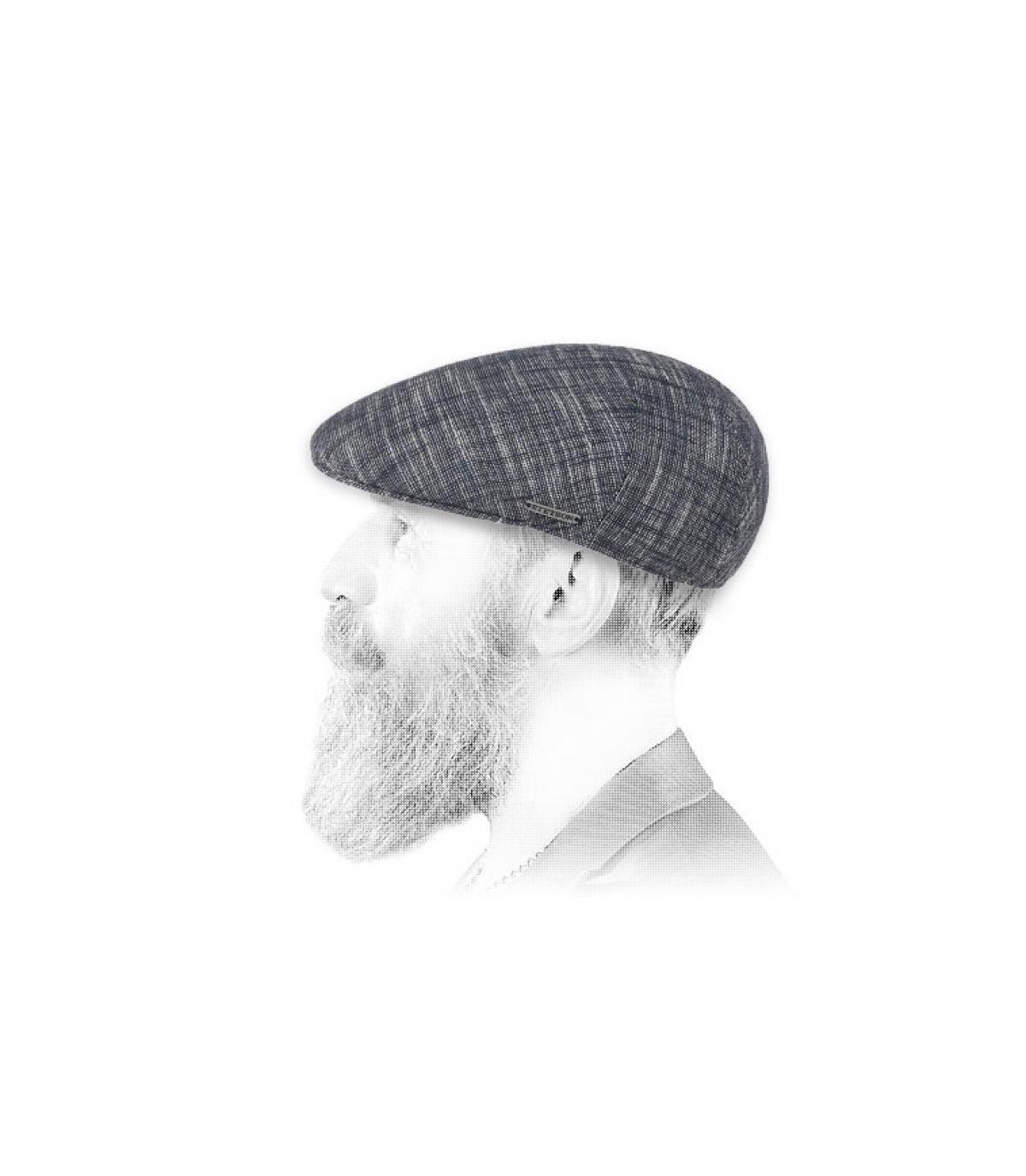 cotone blu berretto