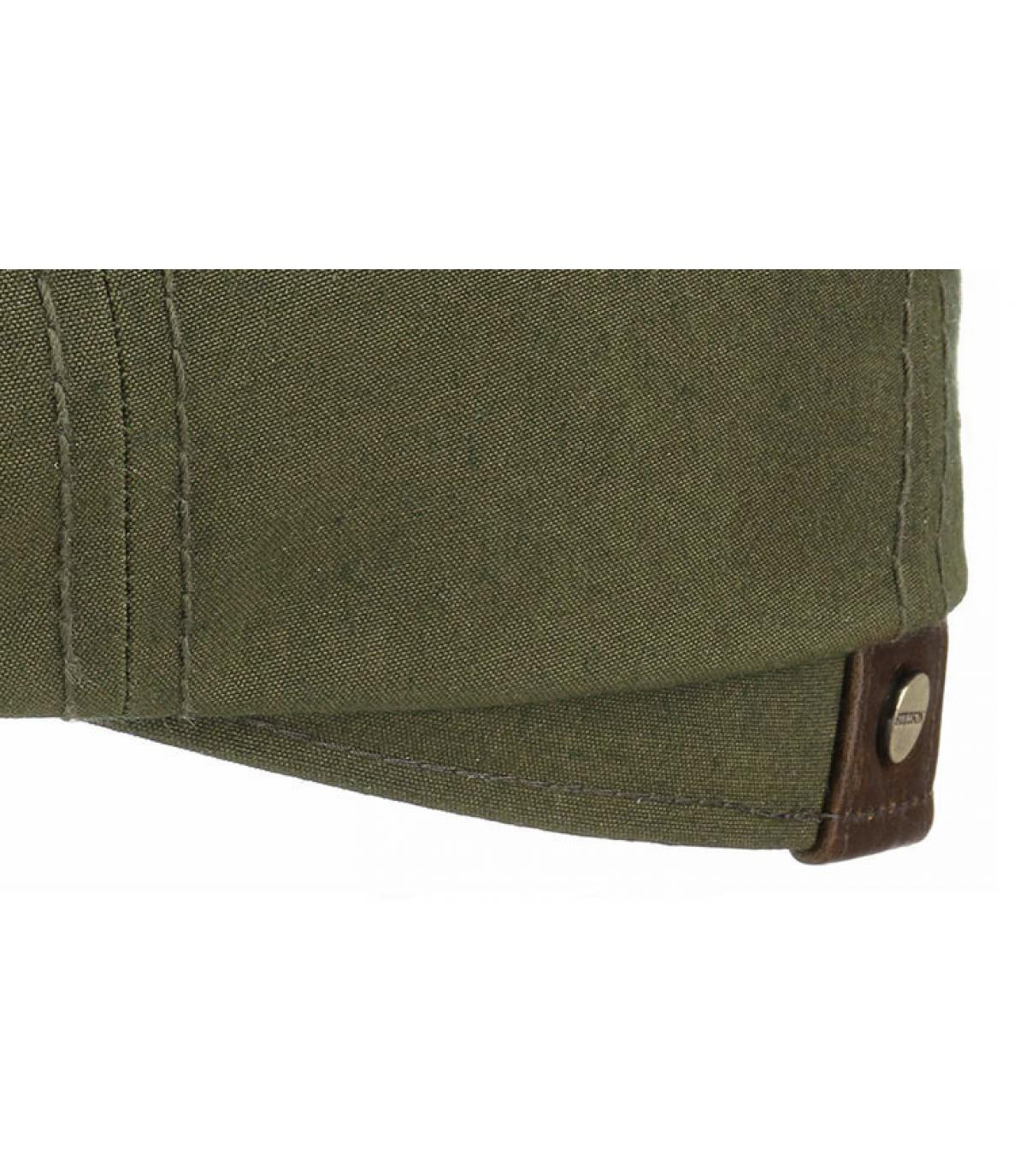 Dettagli Hatteras waxed cotton leather olive - image 3