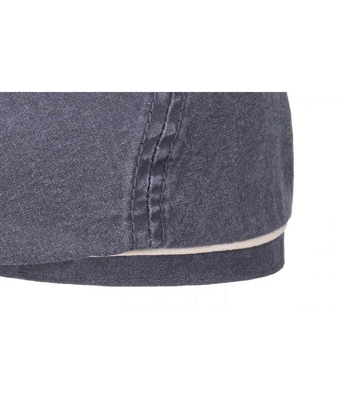 Dettagli Brooklyn cap waxed cotton organic blue - image 3