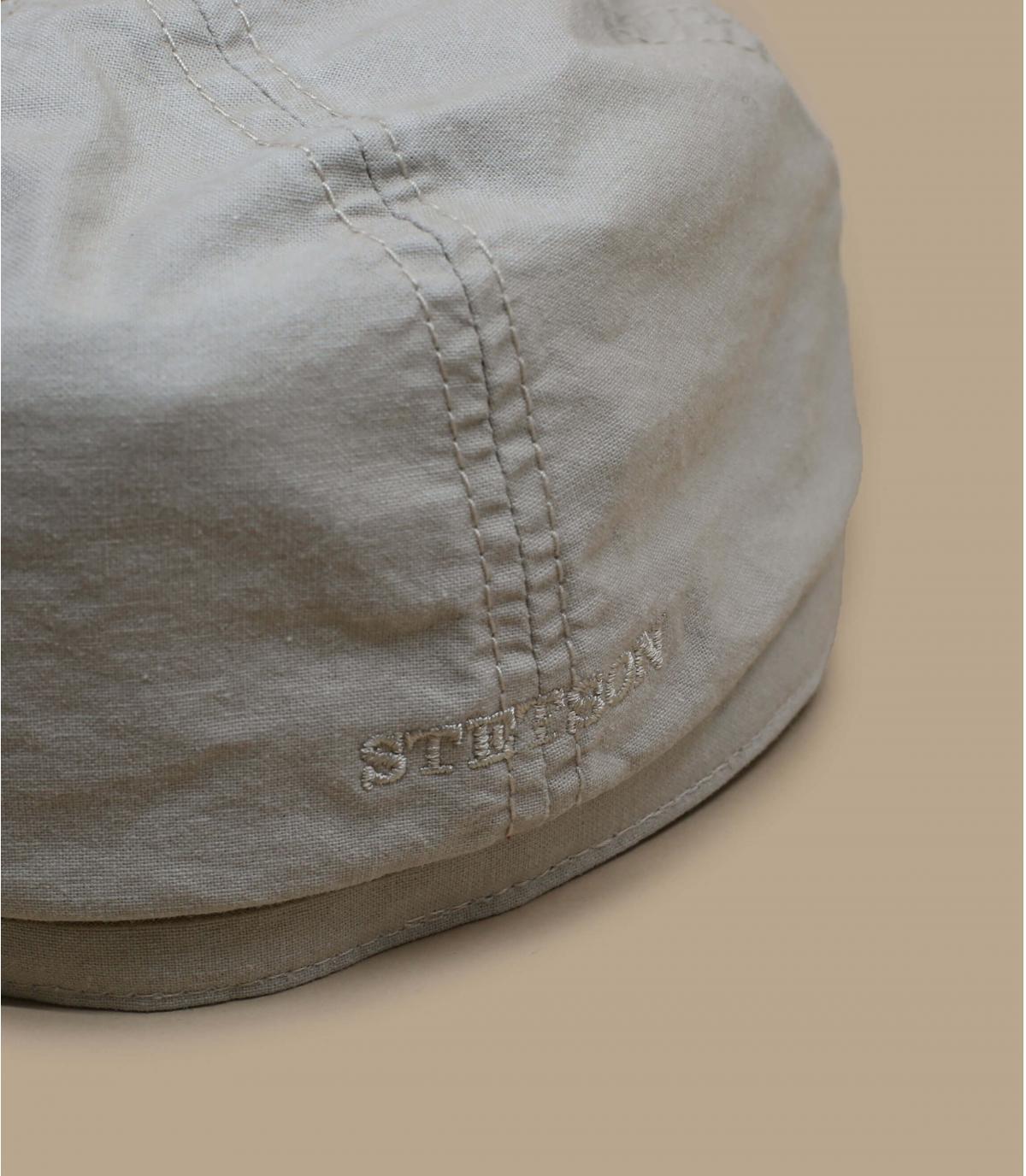 Dettagli Brooklyn cap waxed cotton organic beige - image 2