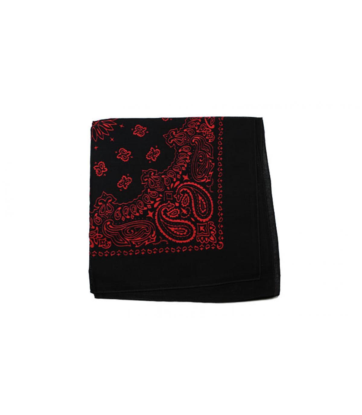red bandana nera