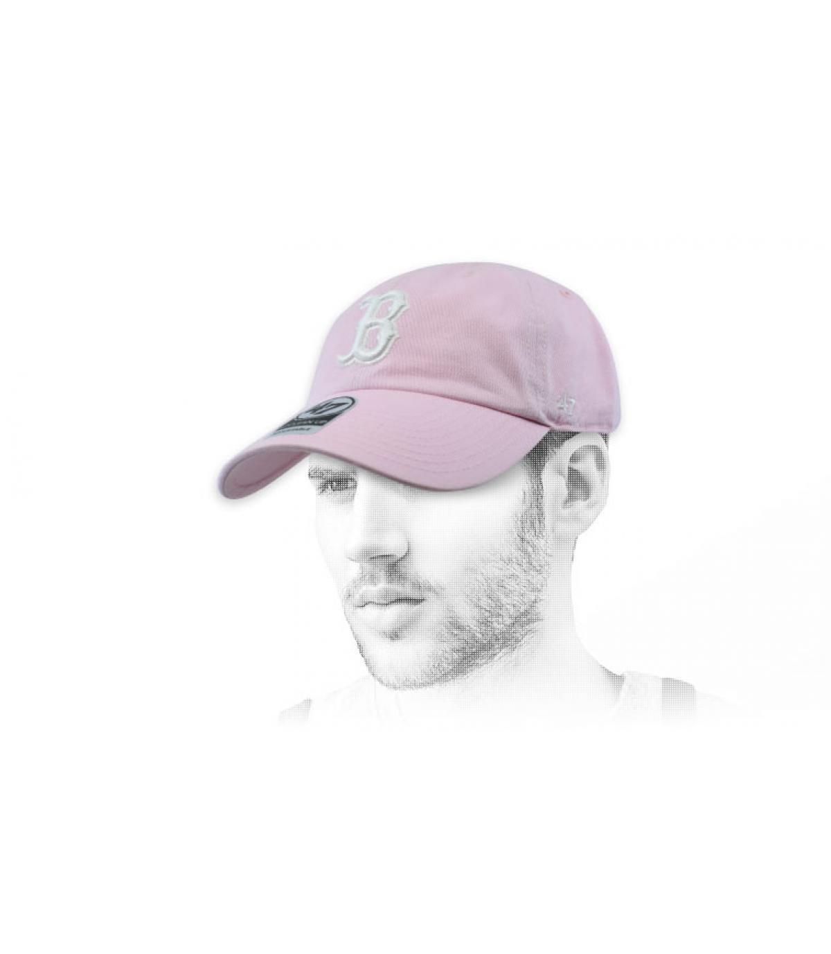 berretto rosa chiaro B