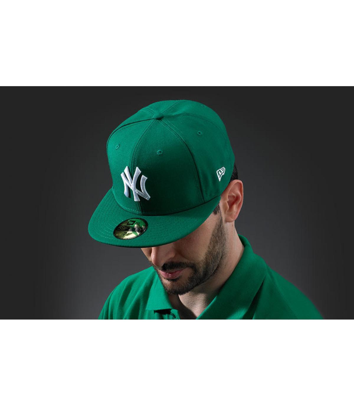 MLB Basic New York green