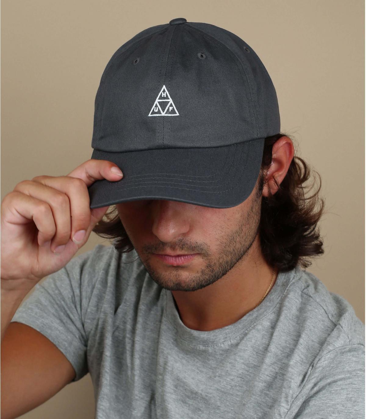 cappello grigio Huf