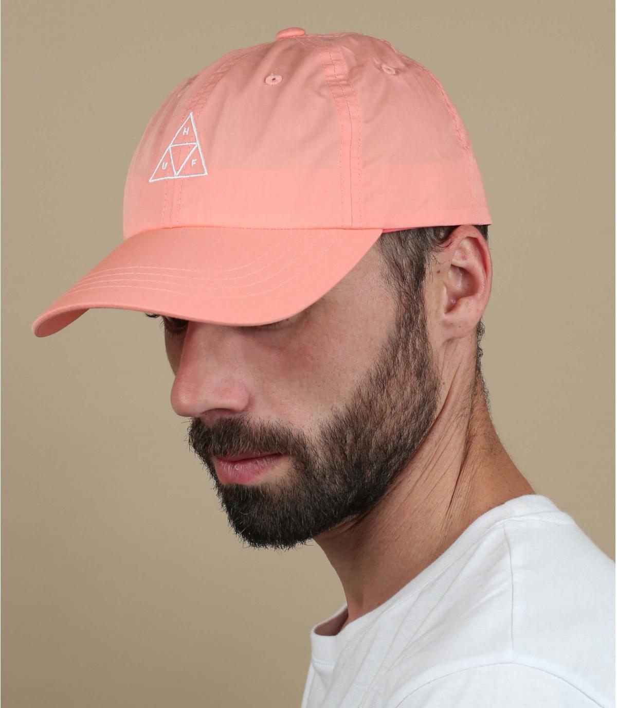 berretto rosa Huf