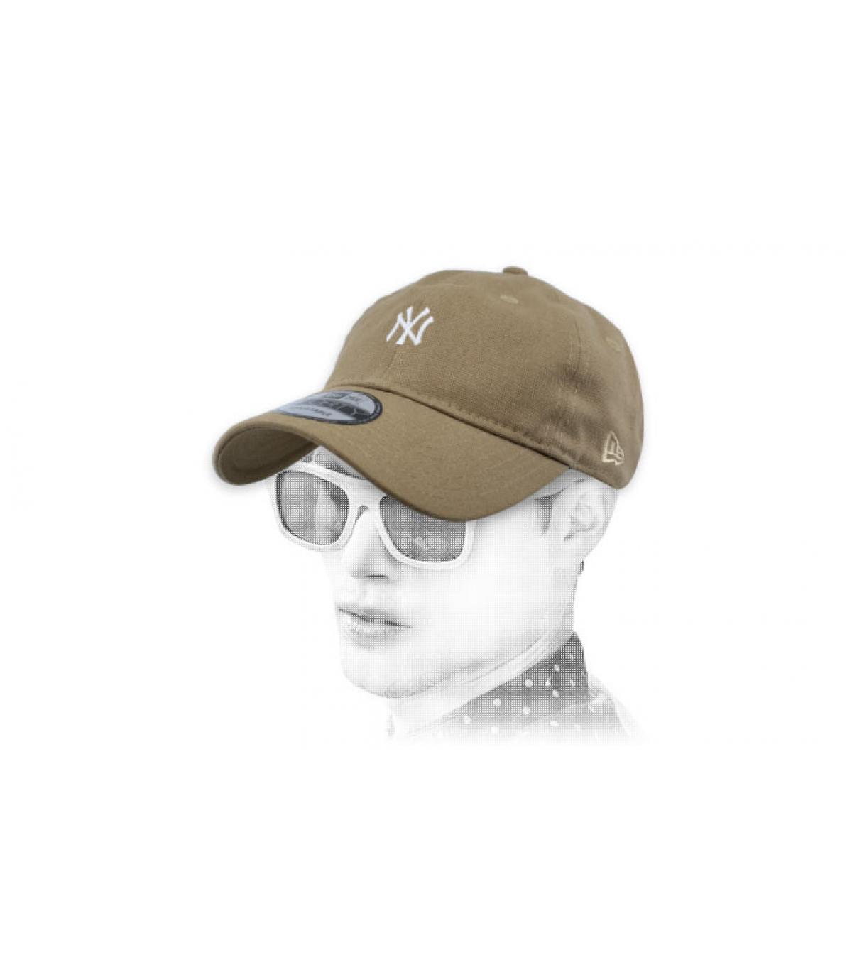 berretto NY beige