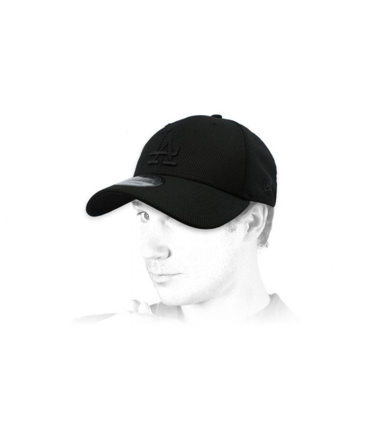 LA black diamond cap