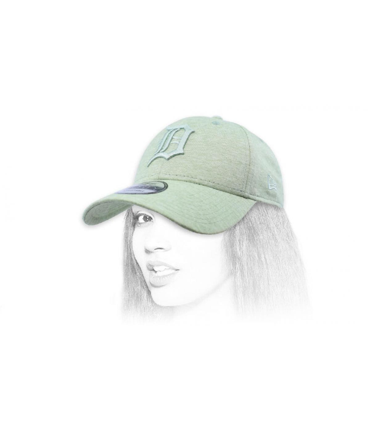 cappuccio D verde chiaro