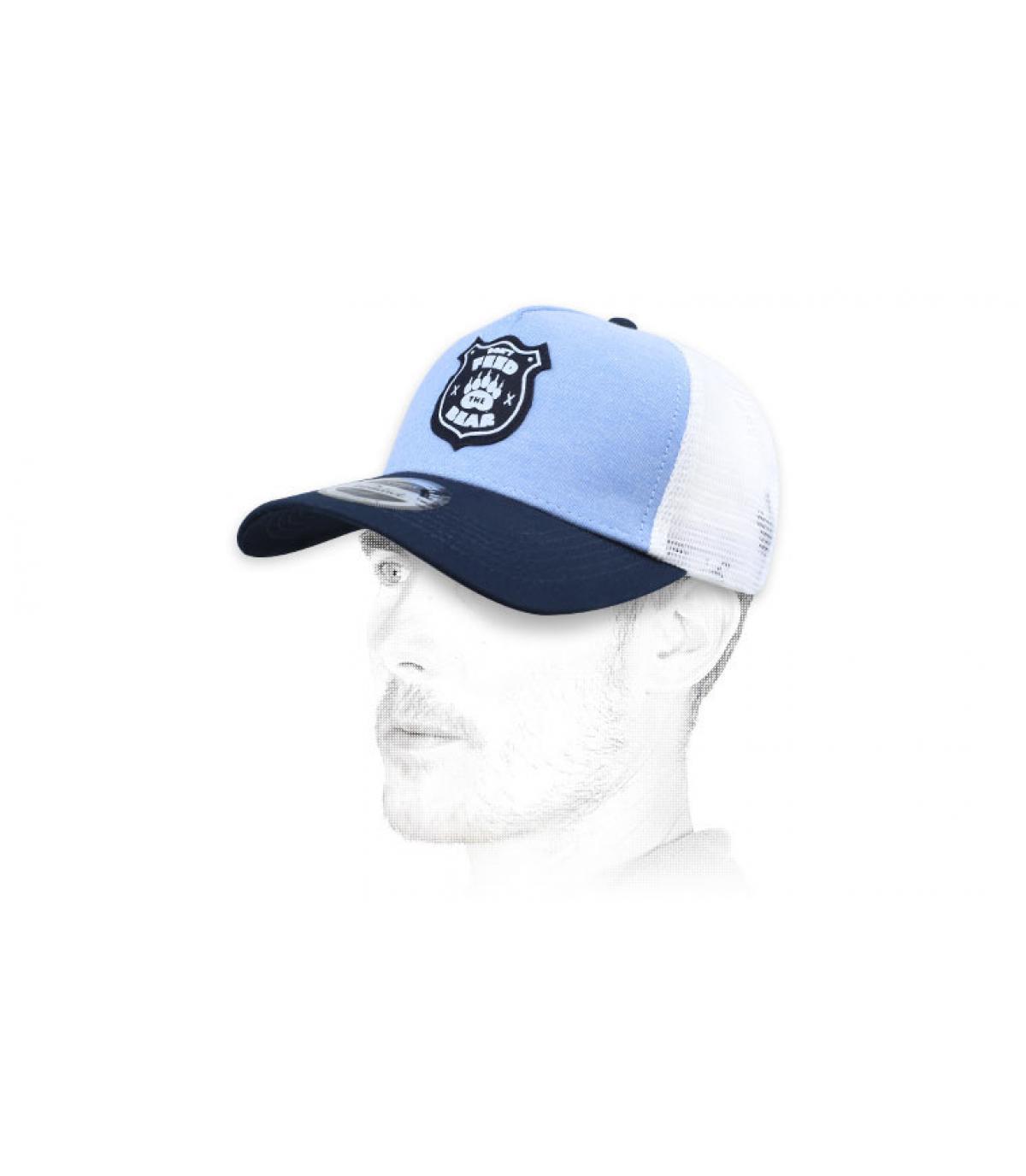 trucker di orso blu