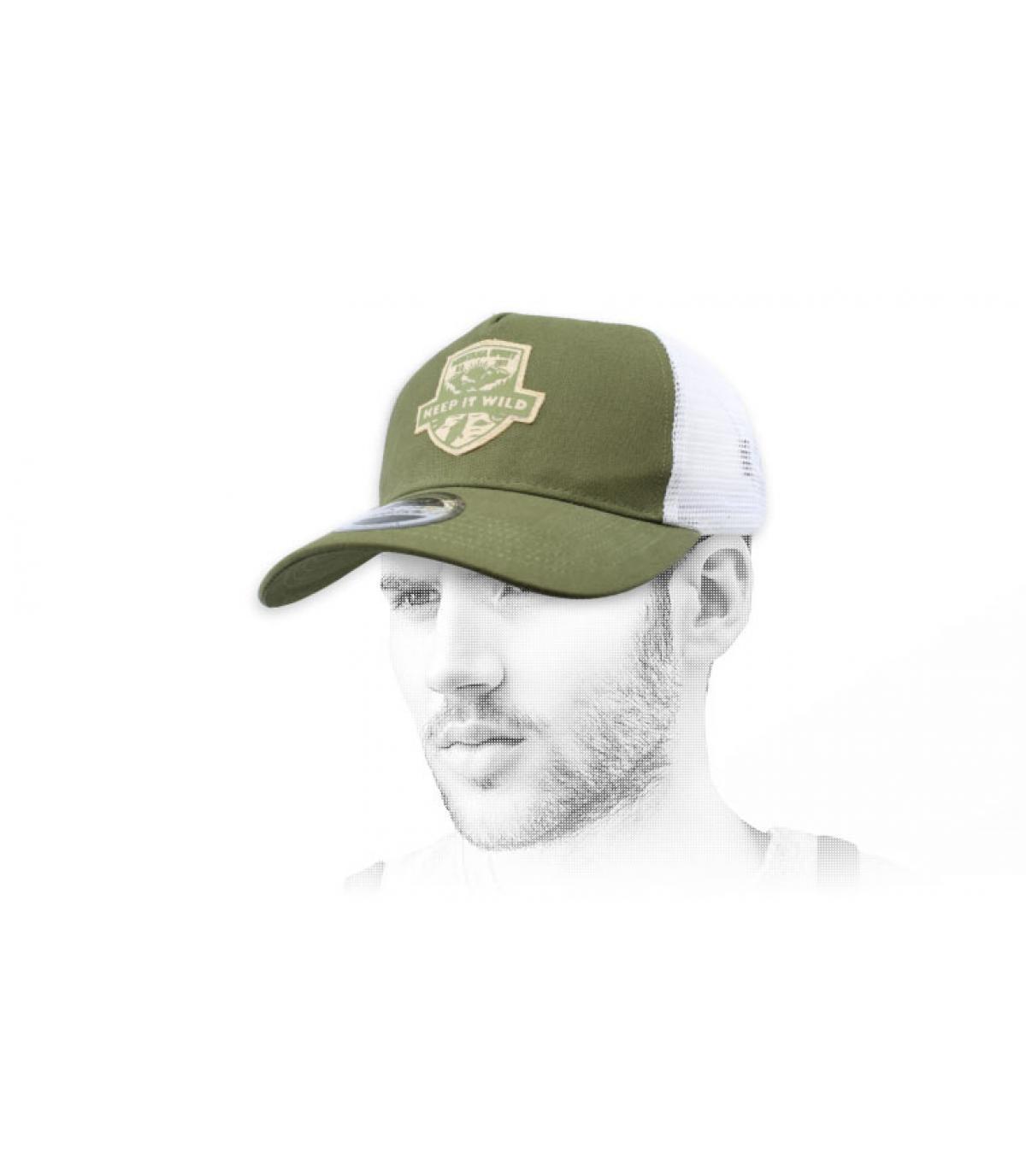 trucker verde selvaggio