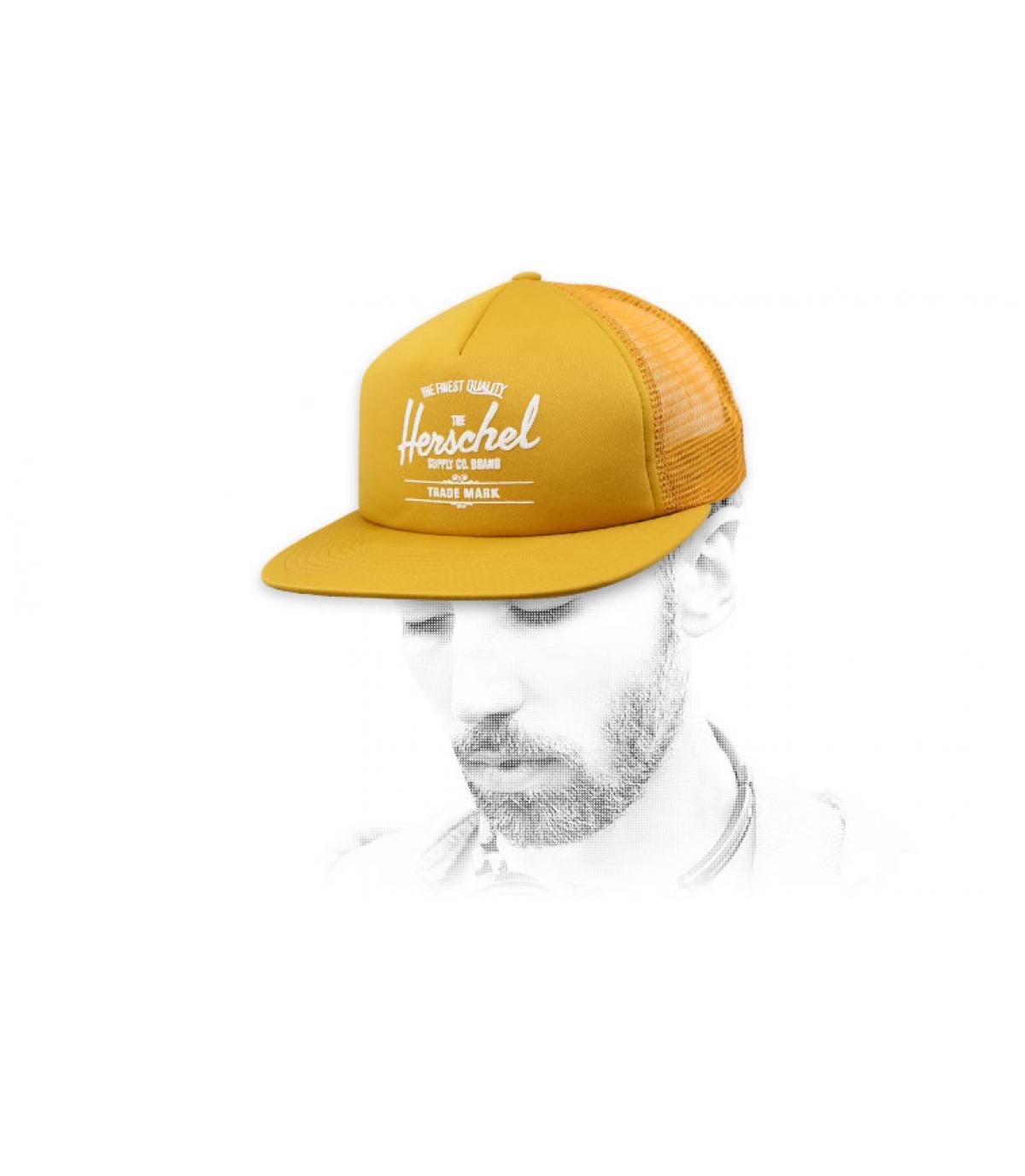 trucker giallo Herschel