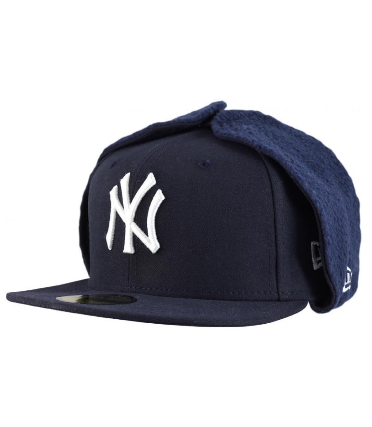 Cappellino Copriorecchie blu