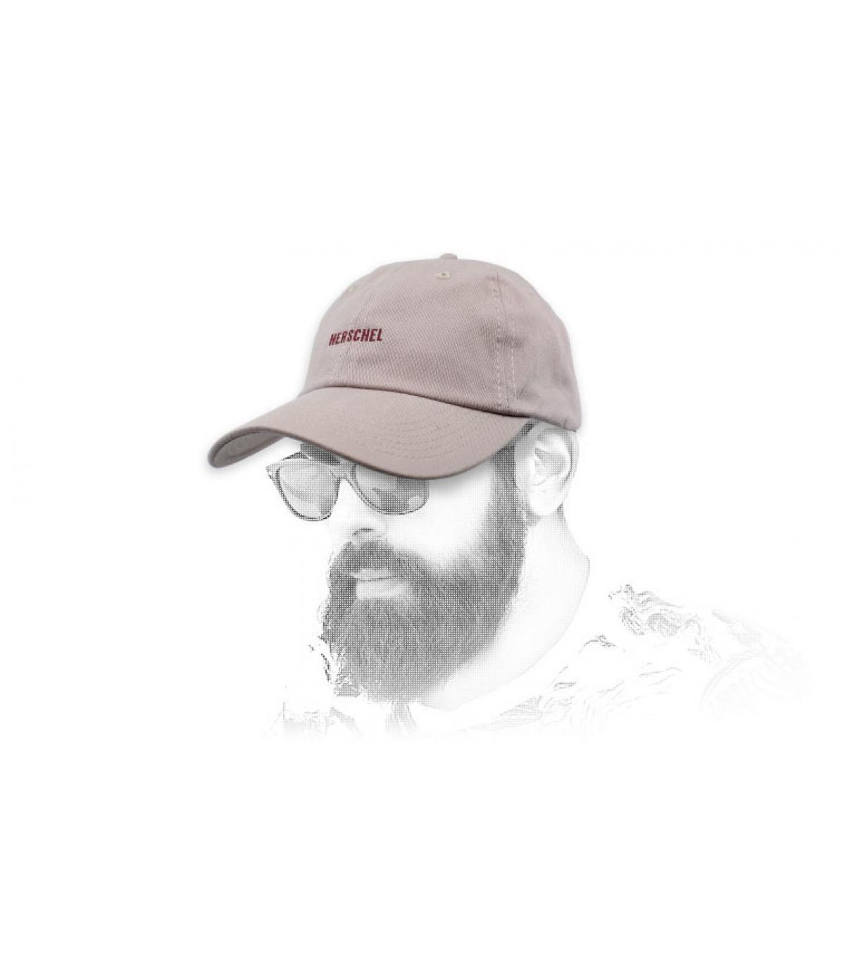 Cappellino rosa Herschel