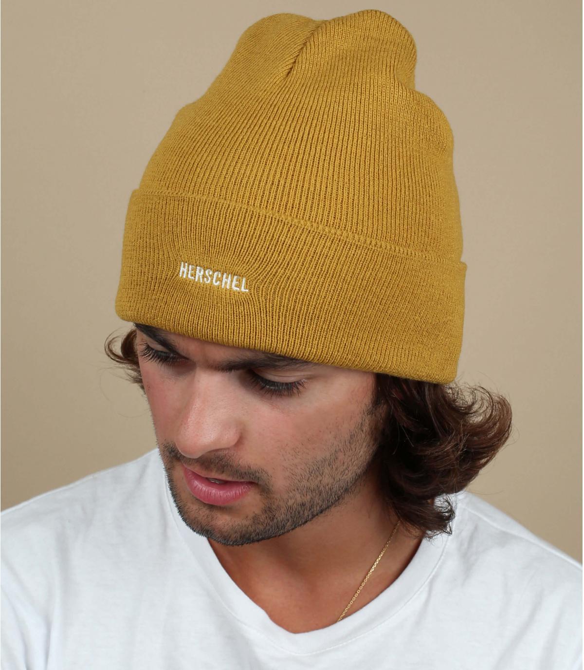 cappello reversibile giallo Herschel