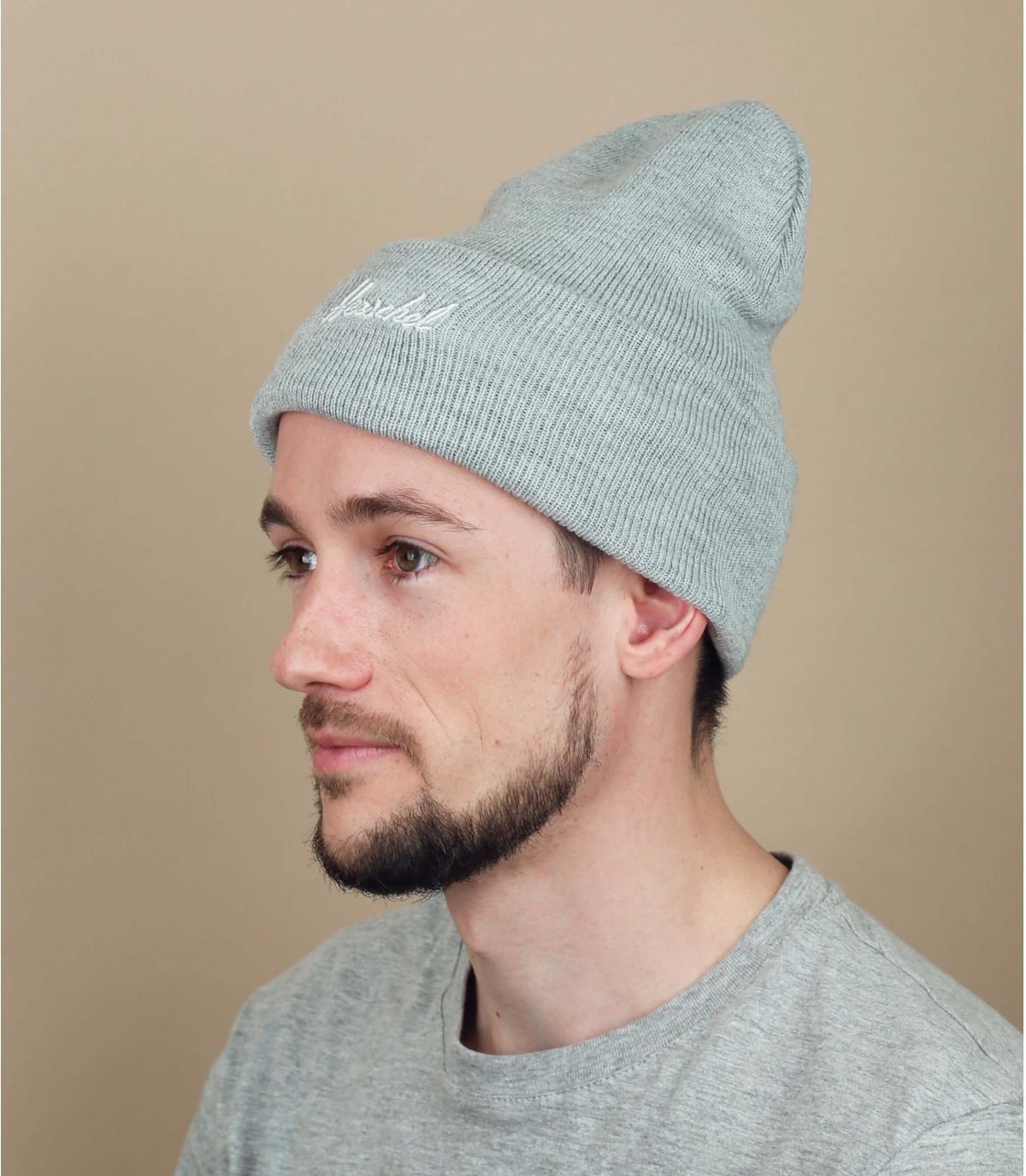 cappello grigio Herschel
