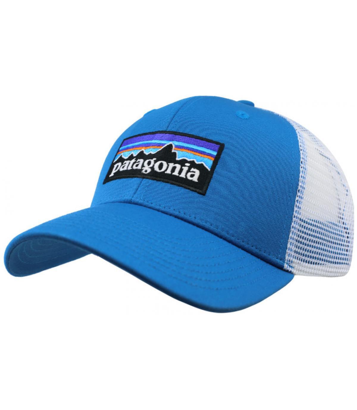 trucker Patagonia blu