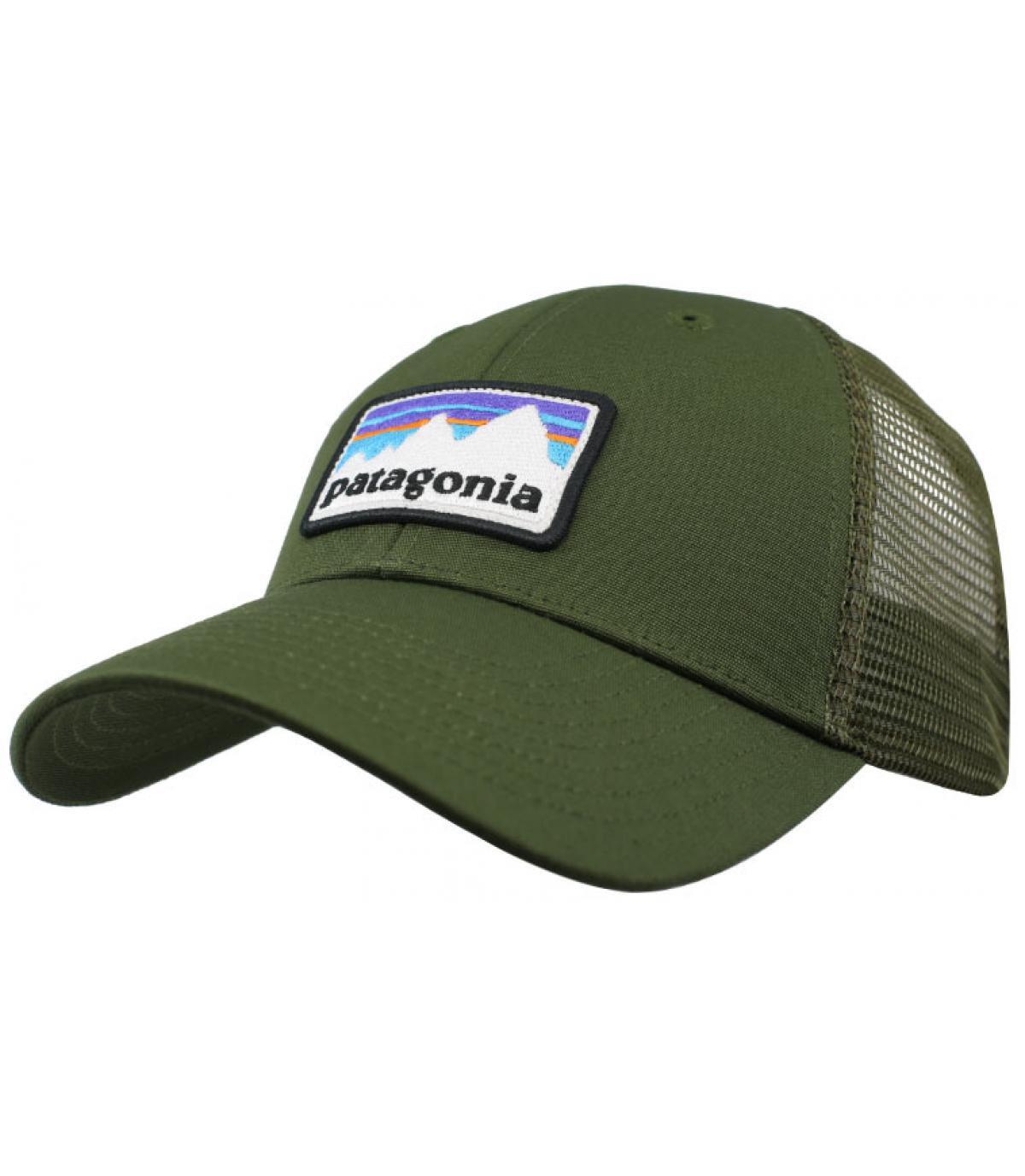 trucker Patagonia verde oliva