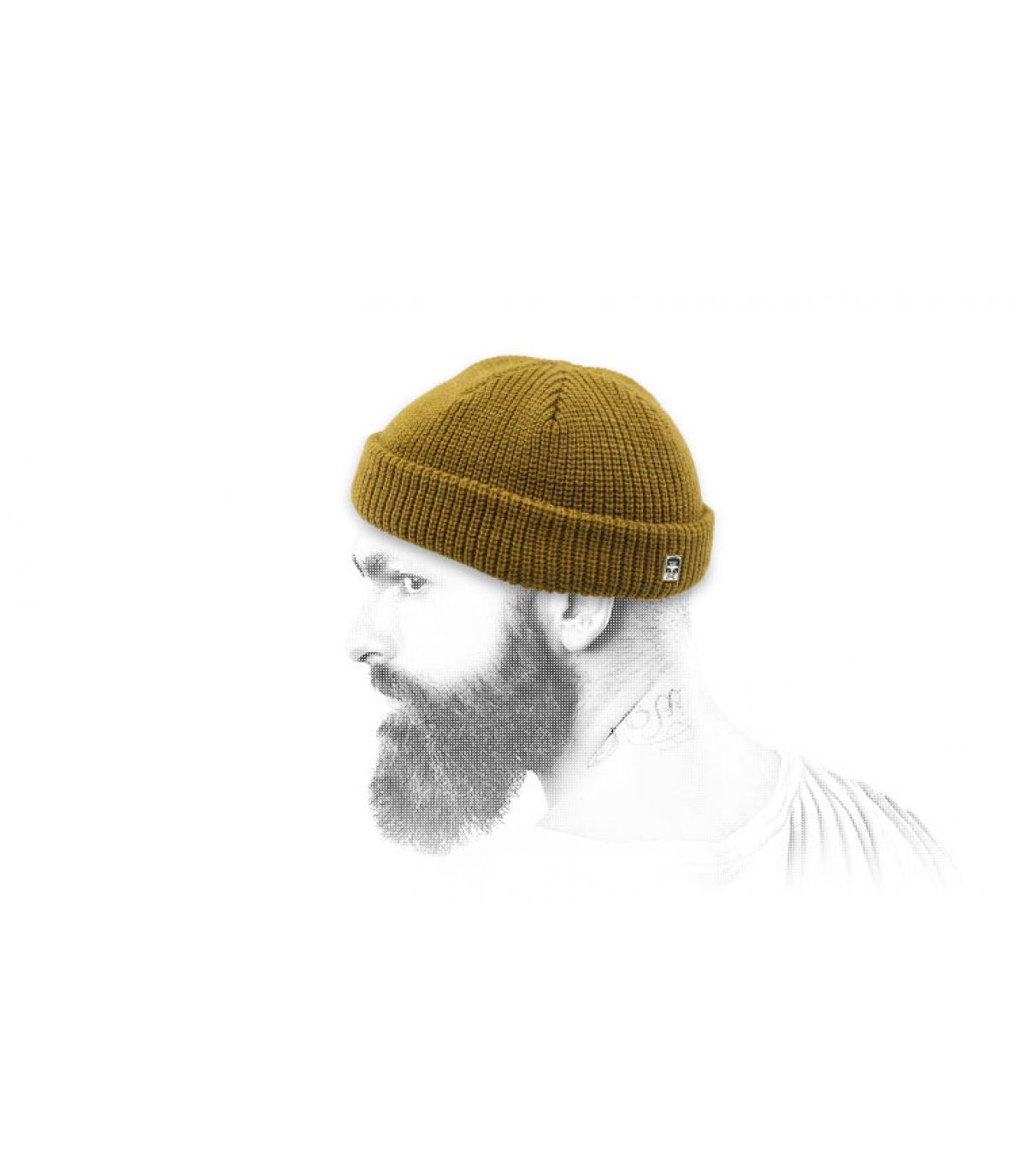 cappello docker marrone Obey