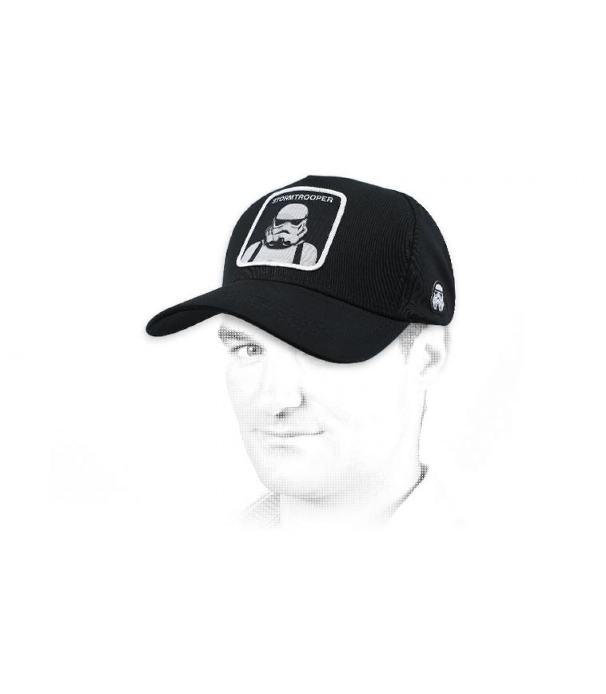 Cappellino nero Stormtrooper