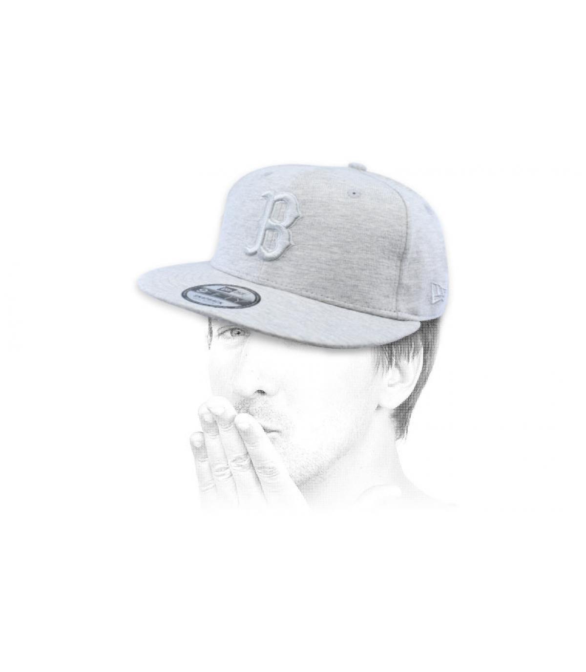 snapback B grigio