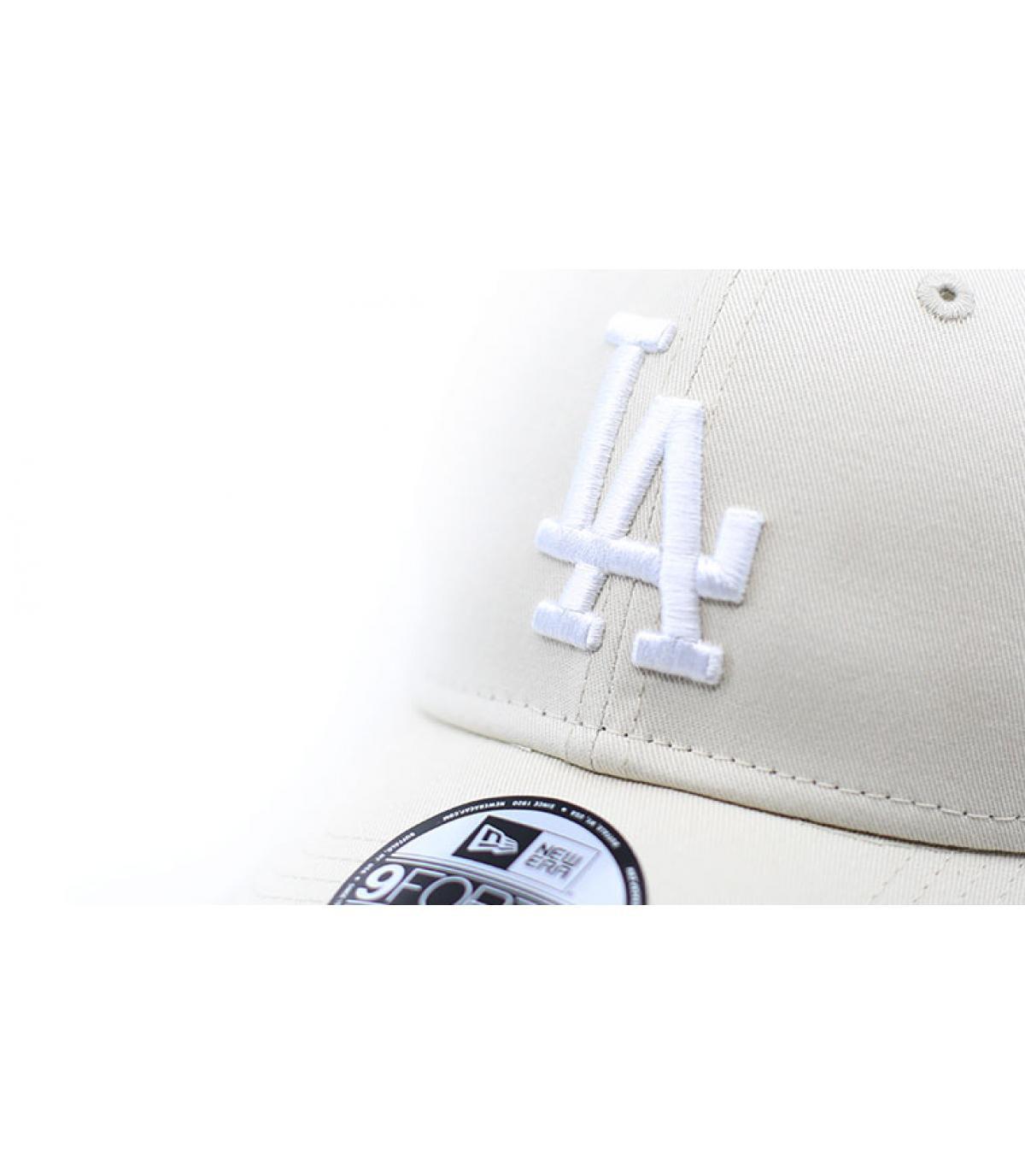Dettagli League Ess 9forty LA off white - image 3