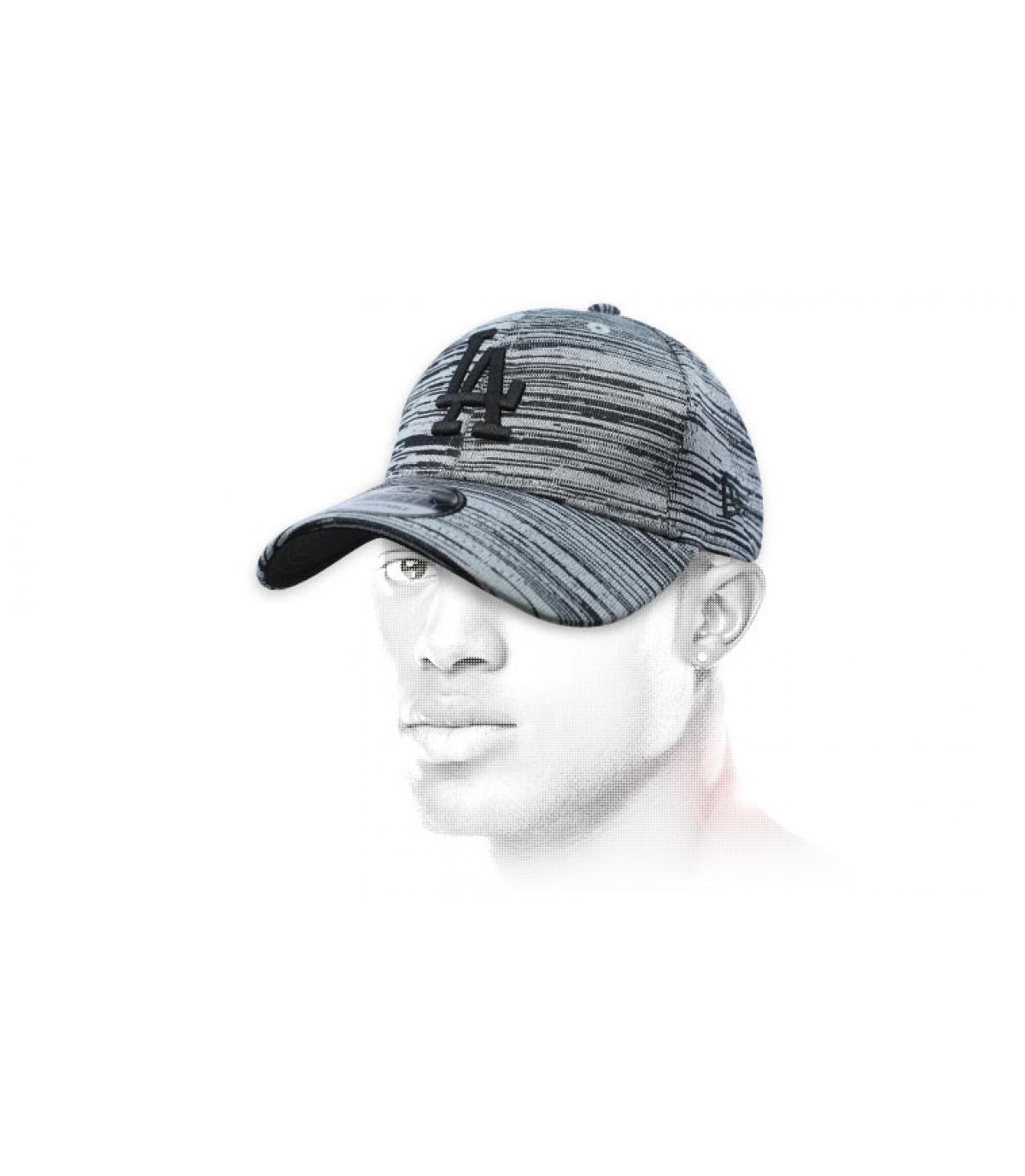 LA Cappellino grigio ingegnerizzato