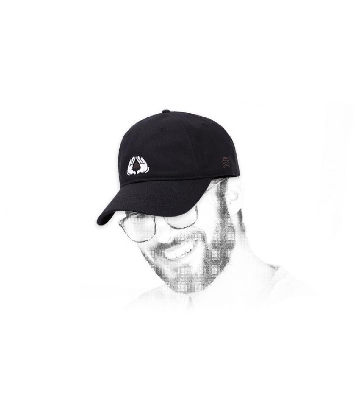 berretto in nero Cayler