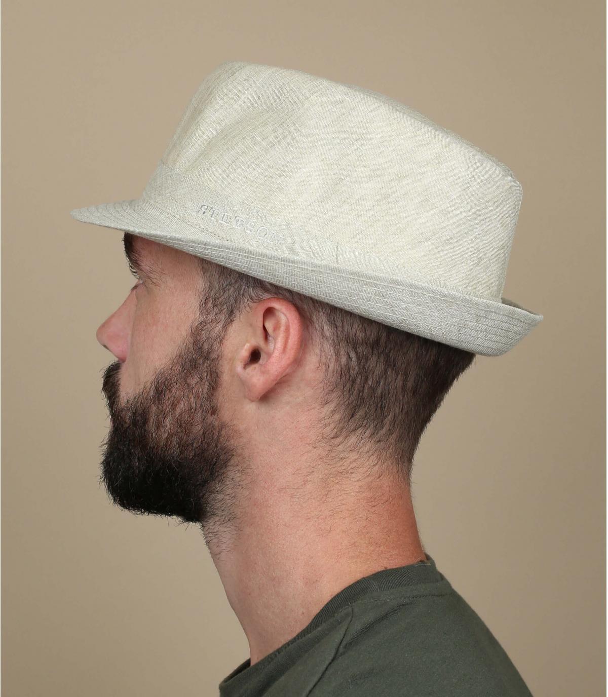 Cappello lin ecru