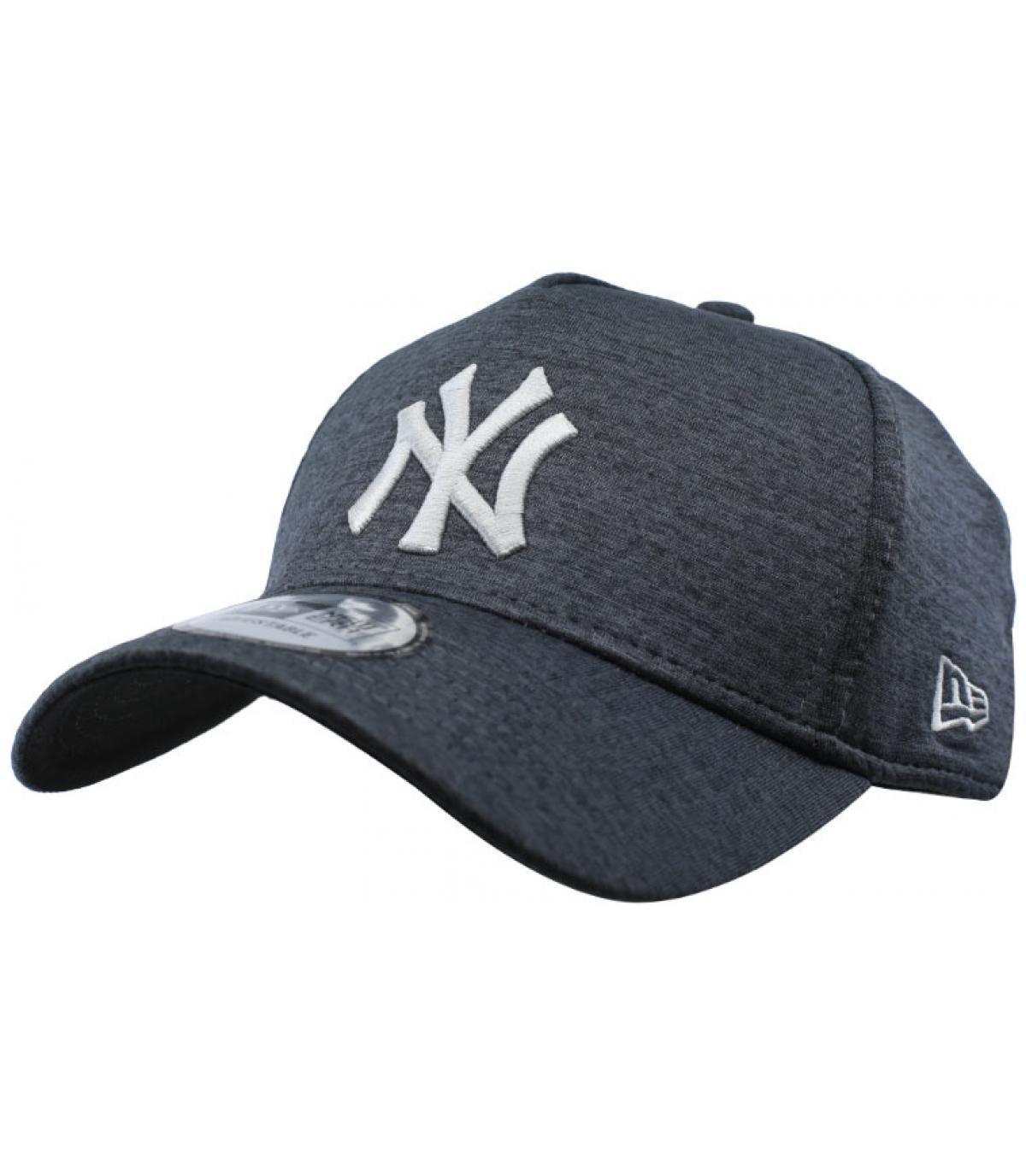 berretto NY nero grigio Aframe
