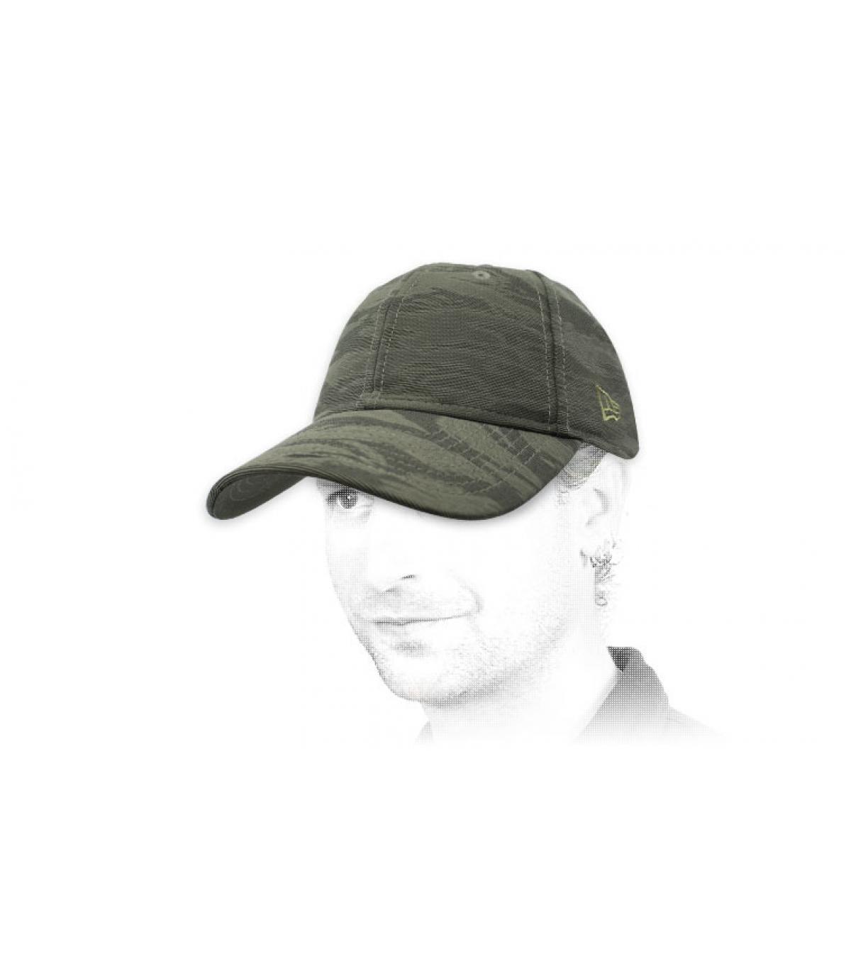 Cappellino camo grigio New Era