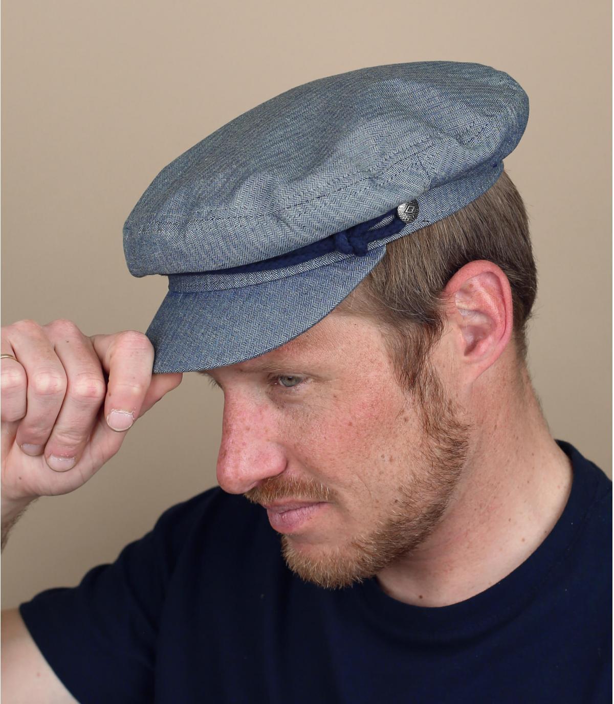 berretto verde oliva Brixton