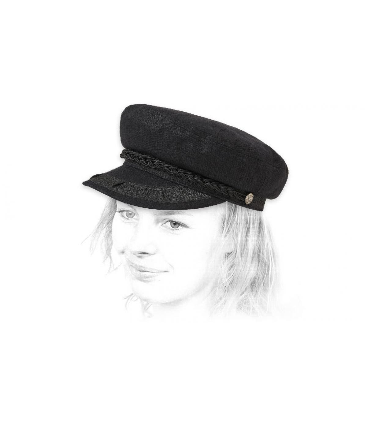 Brixton berretto da marinaio nero