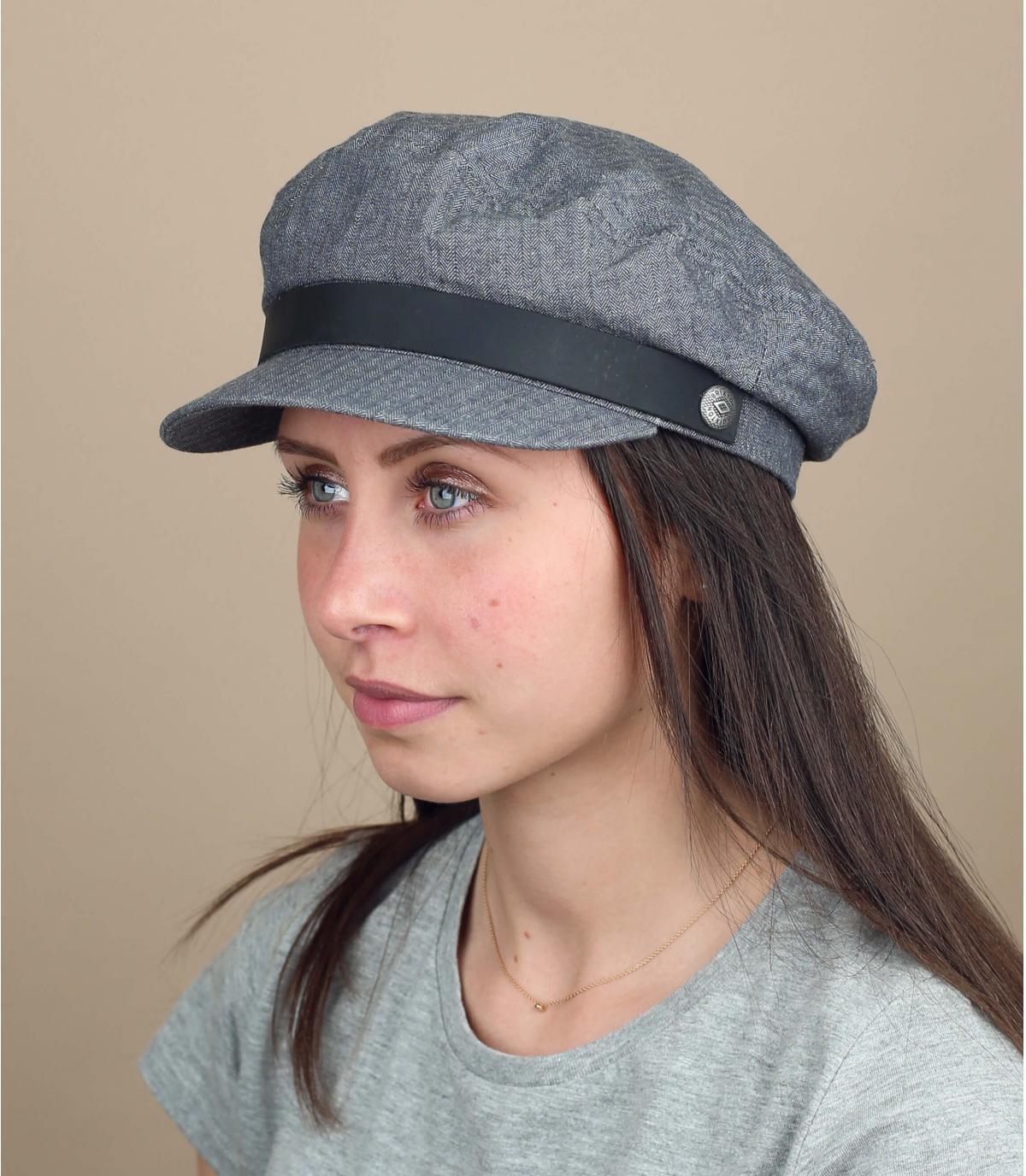 berretto da marinaio donna grigio