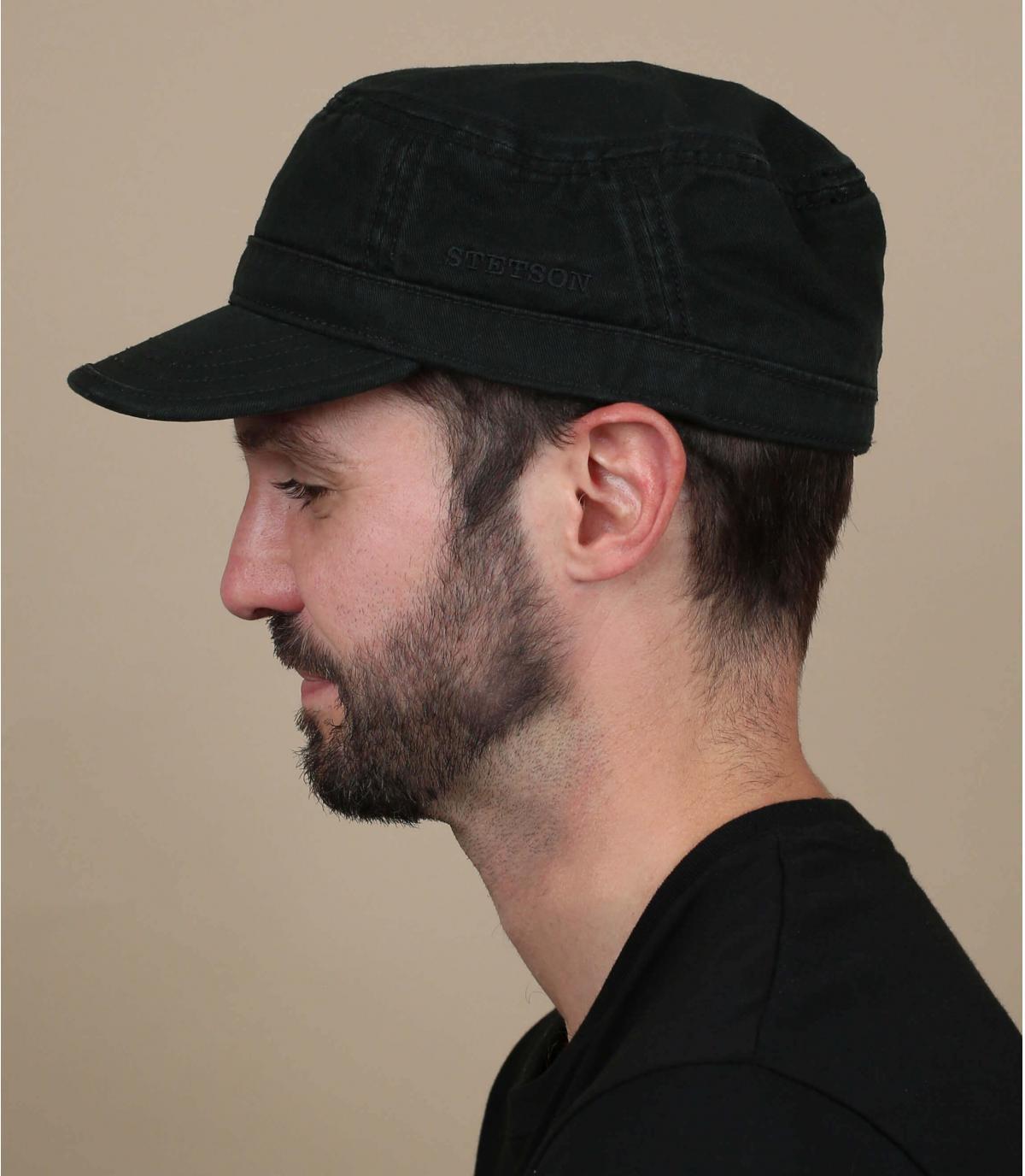 Cappellino army nero stetson