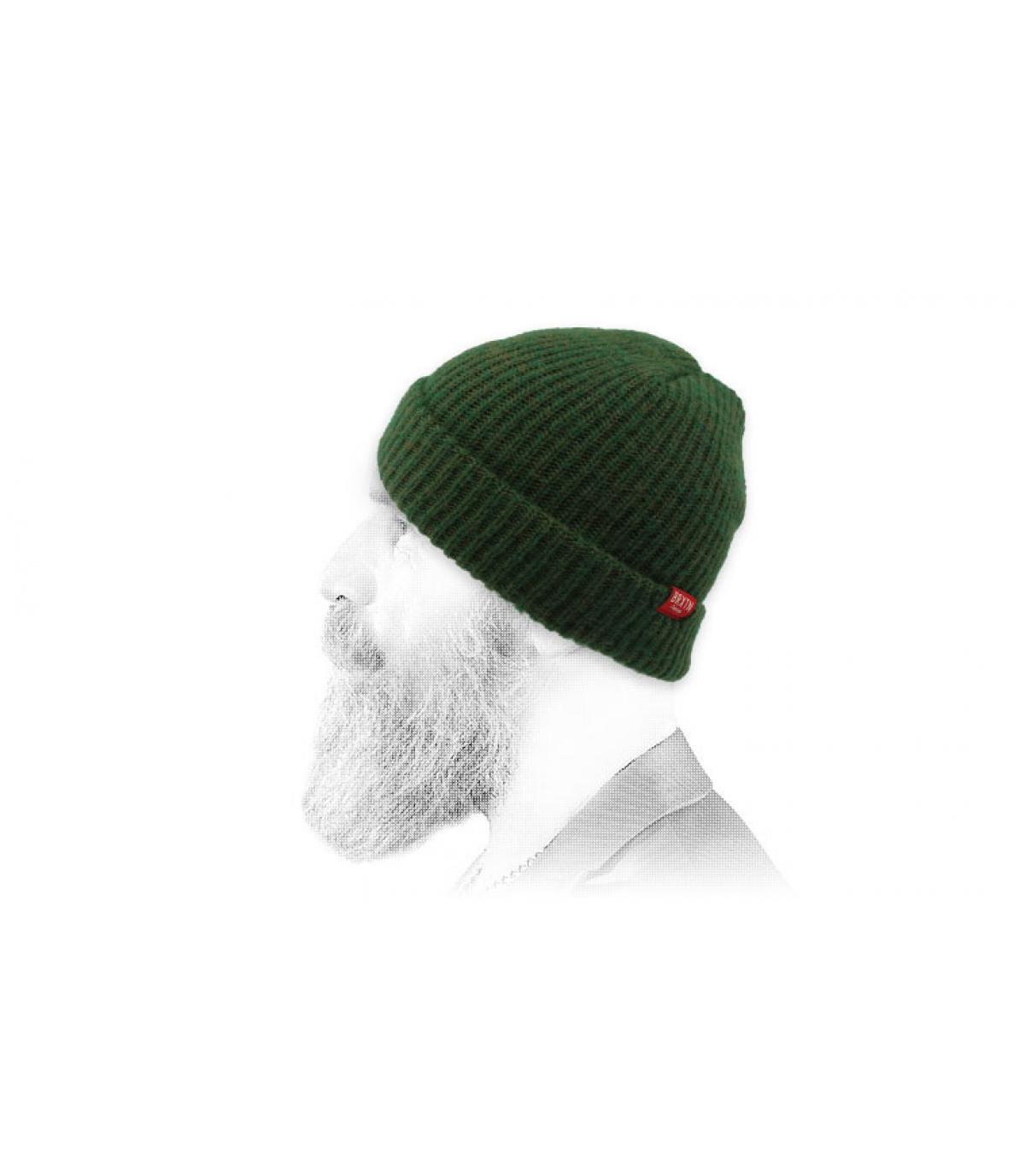 Brixton cappello verde scuro