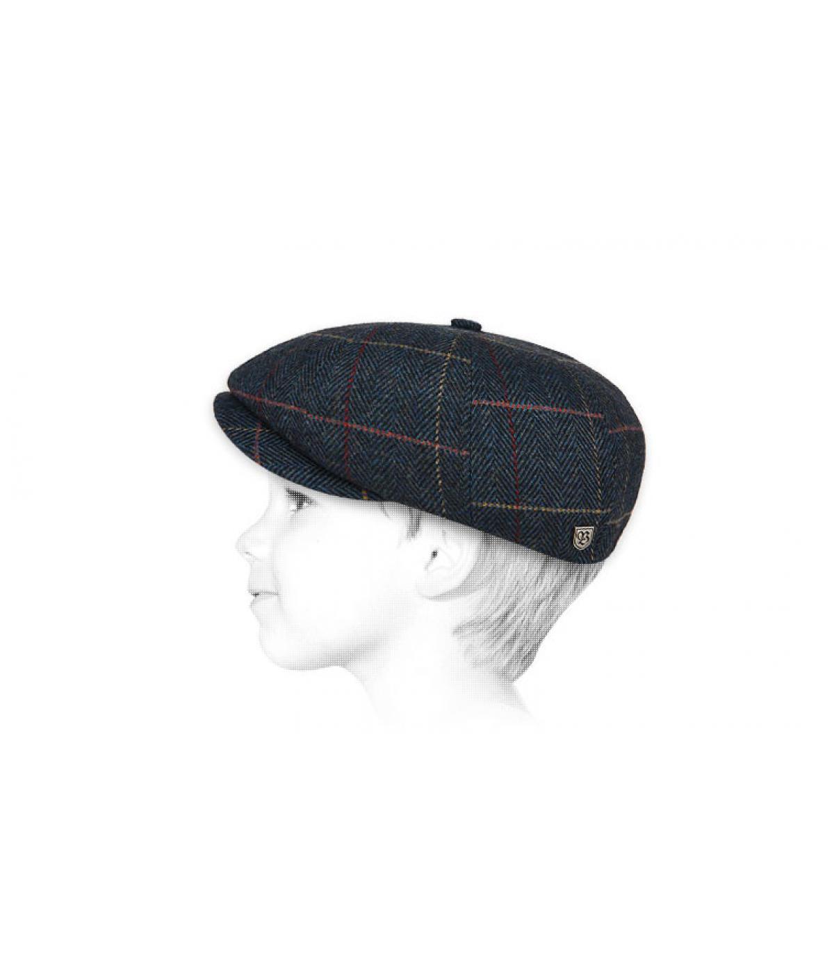berretto berretto bambino blu