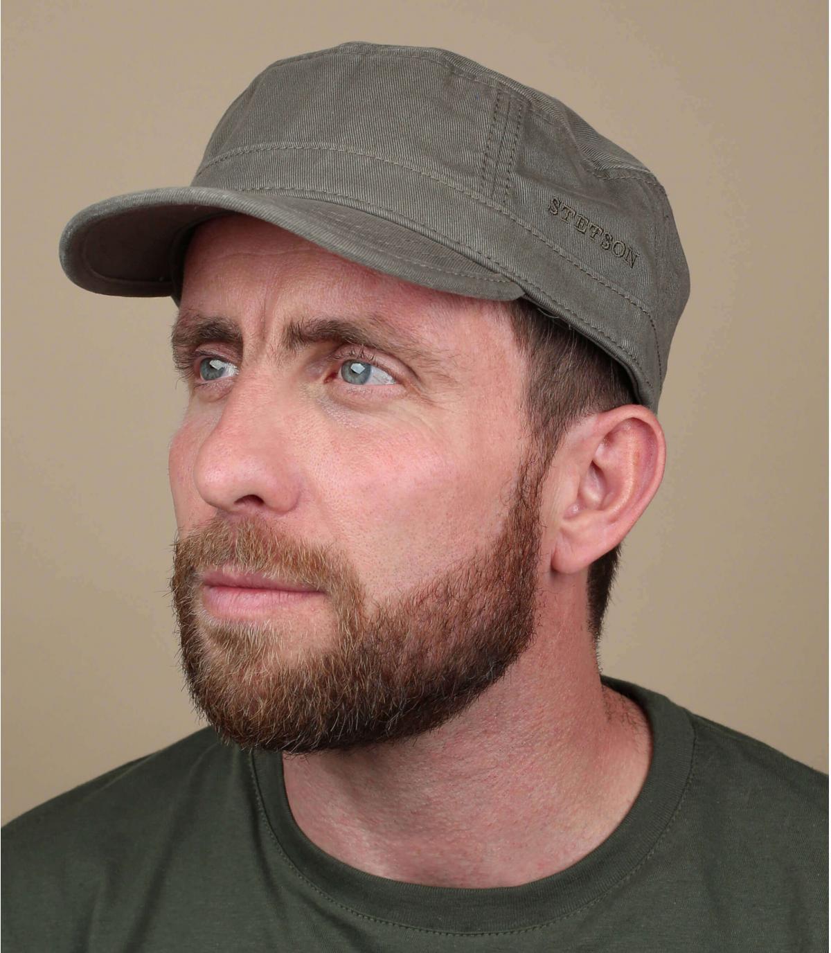 Cappellino army khaki stetson