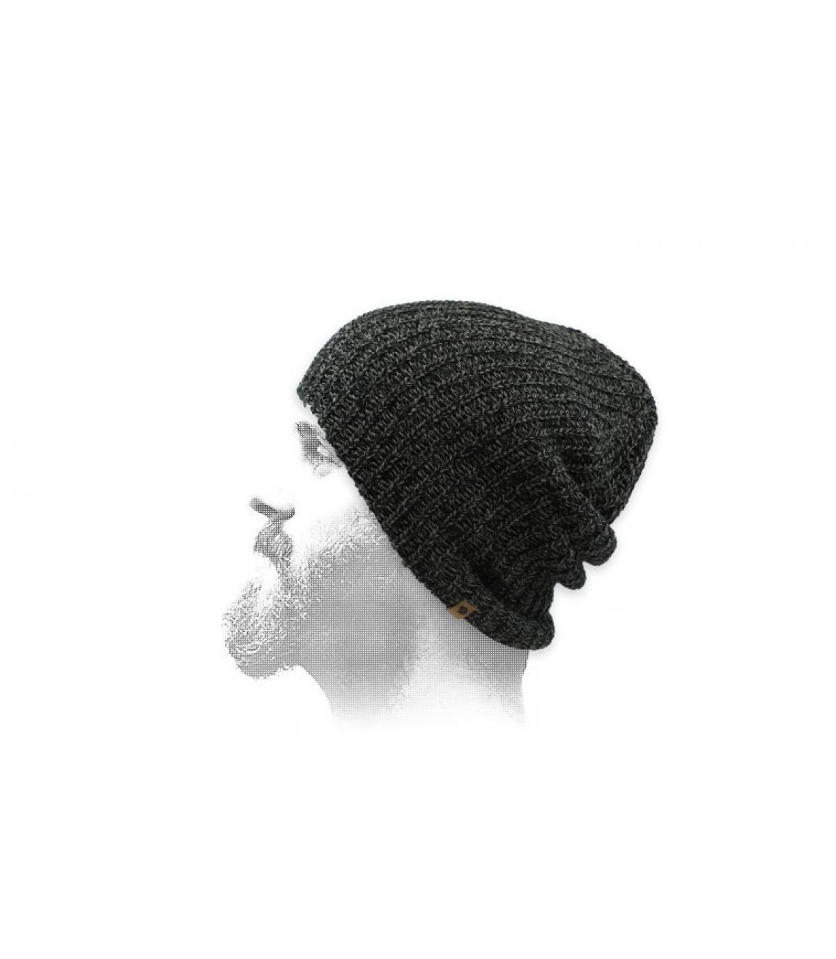 cappello lungo nero Fjällräven