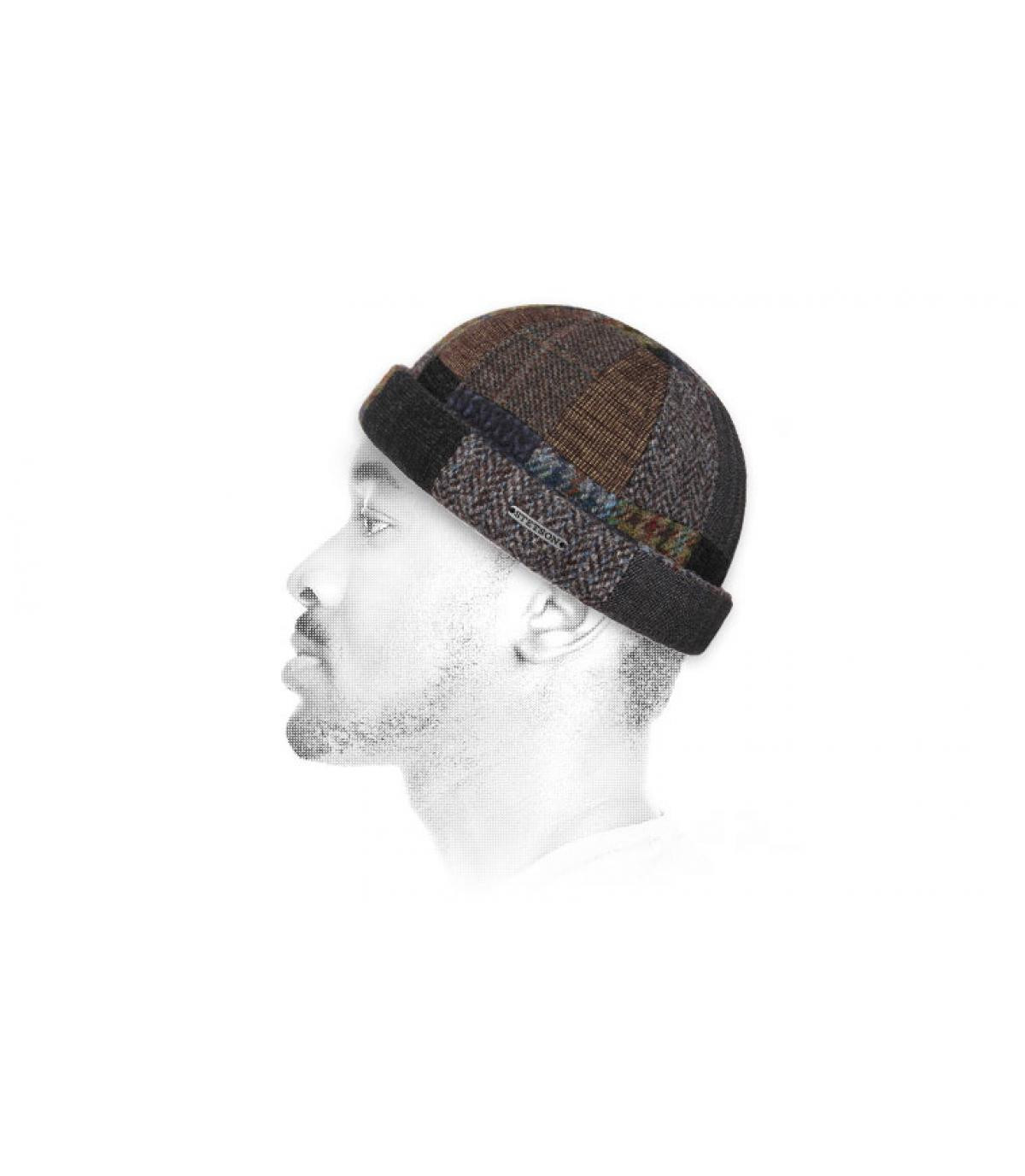lana patchwork cappello docker