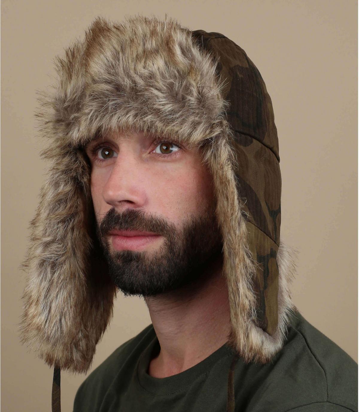 cappello di cotone mimetico