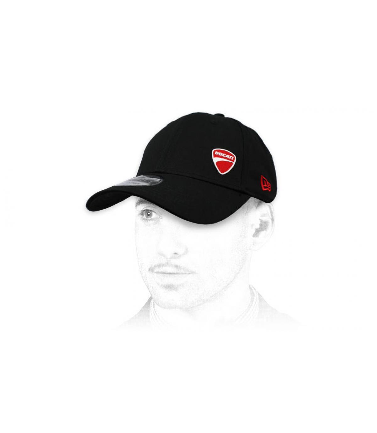 cappellino nero Ducati