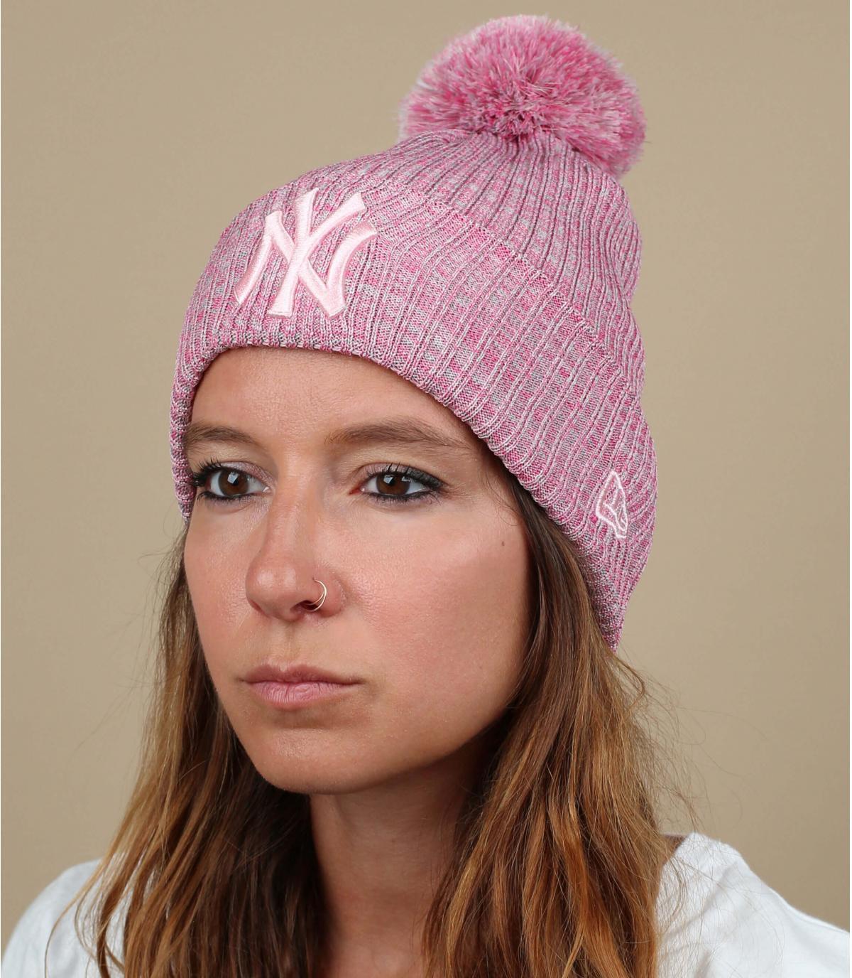 Cappello rosa NY