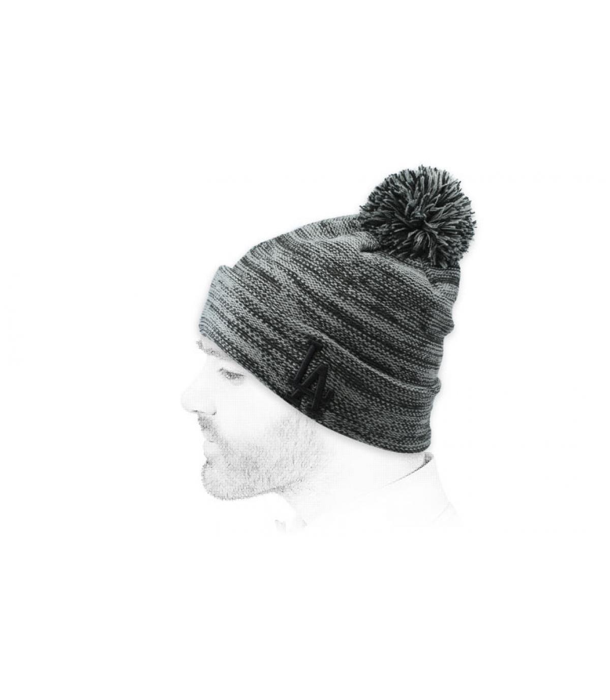 cappello grigio LA
