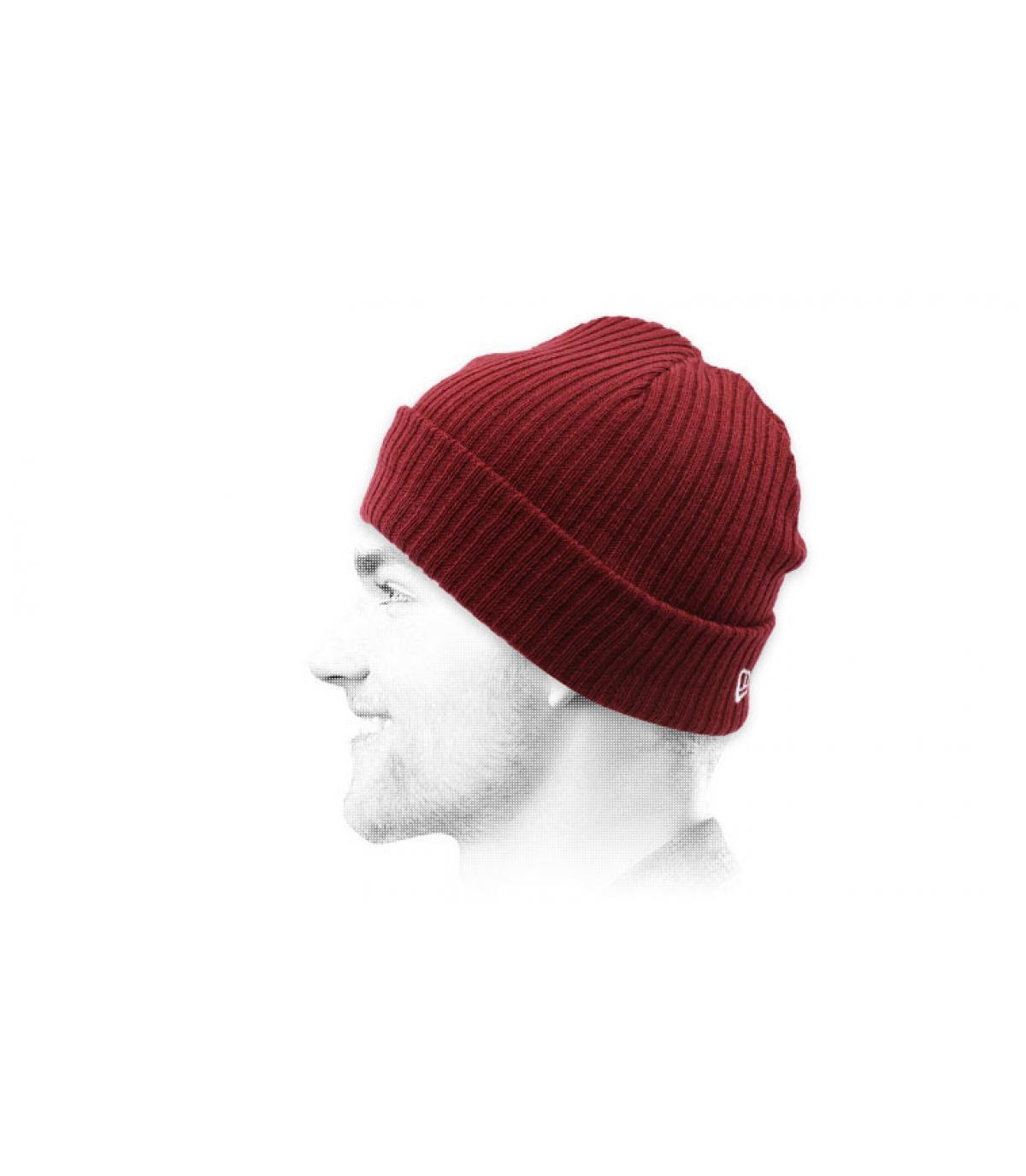 cappello docker bordeaux